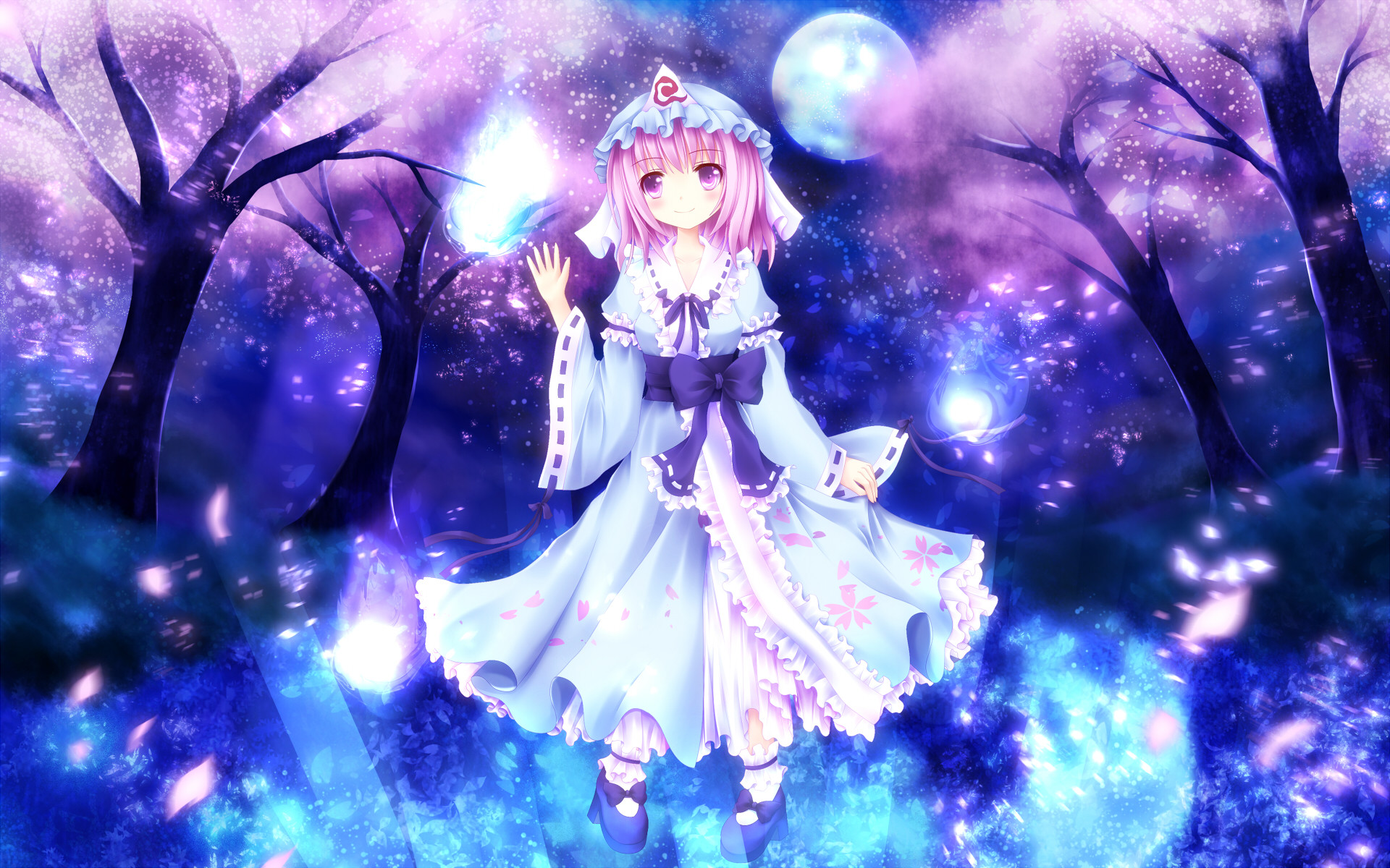 1080x1920 Anime Dreamy Girl Step #iPhone #6 #plus #wallpaper. Anime ArtCherry BlossomsArt .