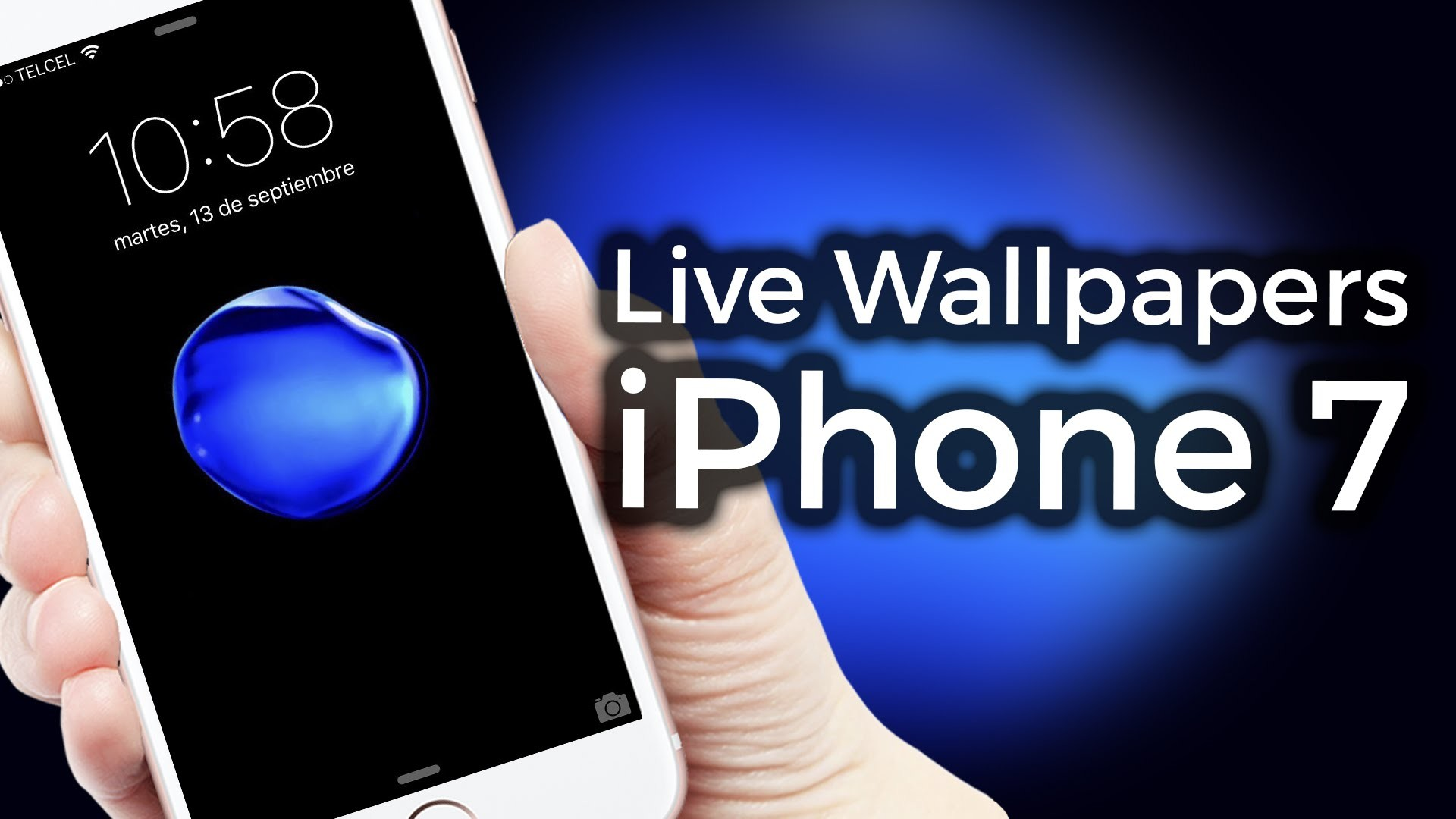 1920x1080 iPhone 7 Live Wallpapers, iPhone 5S,6,6S Cydia tweak | ZIDACO - YouTube