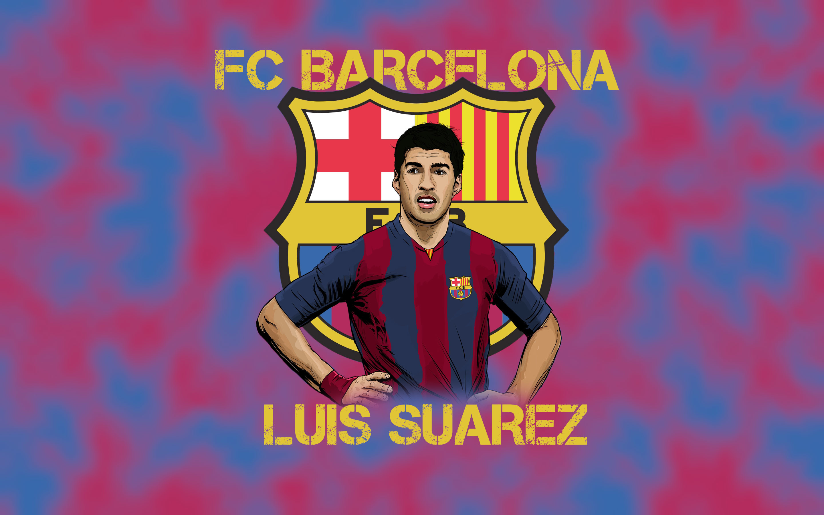 2880x1800 Luis Suarez Widescreen Wallpaper