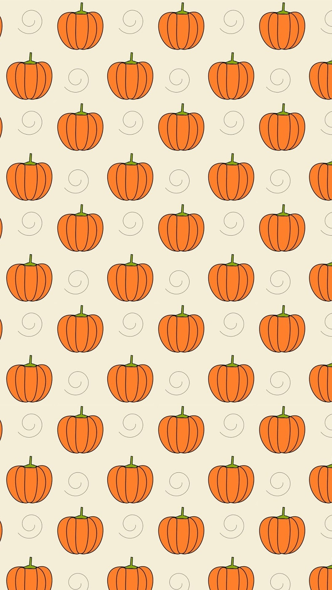1080x1920 Pumpkins - Tap to see more cute halloween wallpaper! | @mobile9