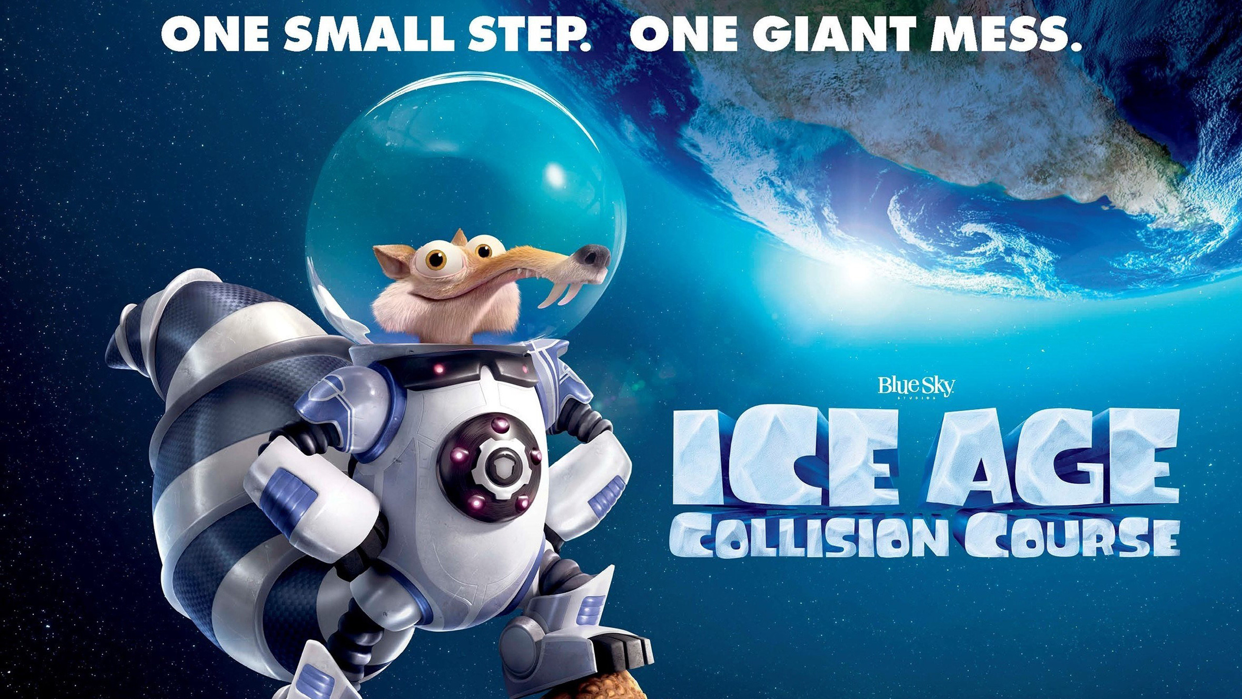 2560x1440 Ice Age Collision Course
