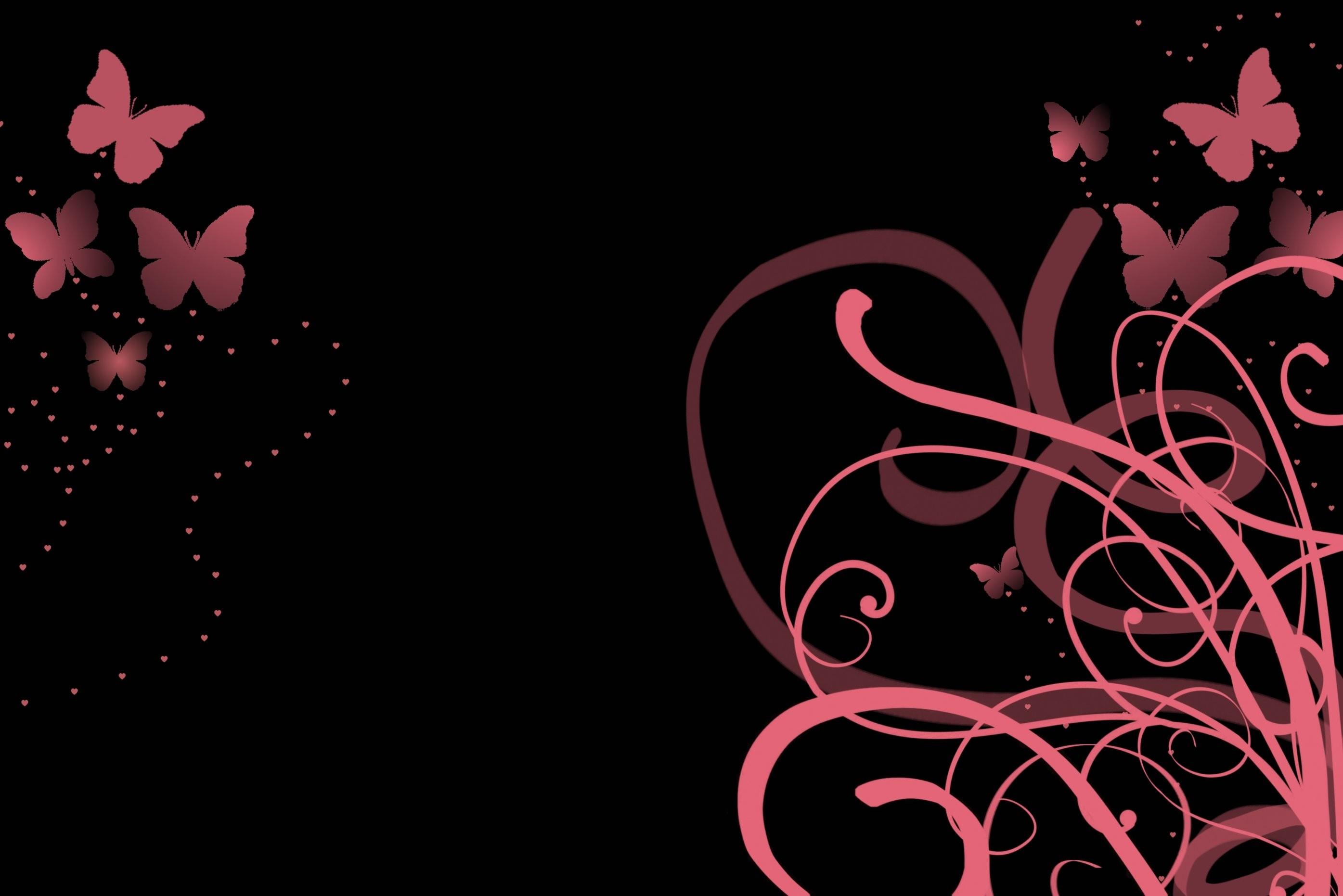 Black And Pink Desktop Wallpaper 79 Images