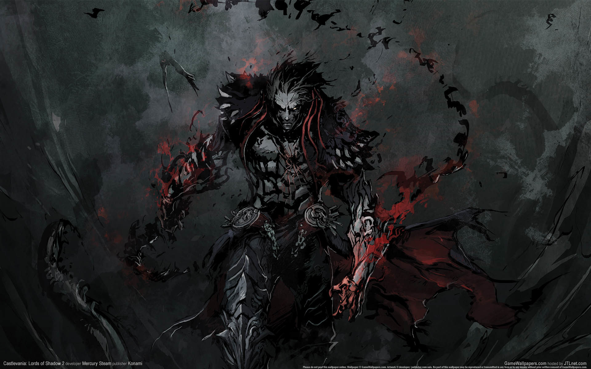 1920x1080 Preview Wallpaper Castlevania Lords Of Shadow Mirror Fate Gabriel Belmont Dracula