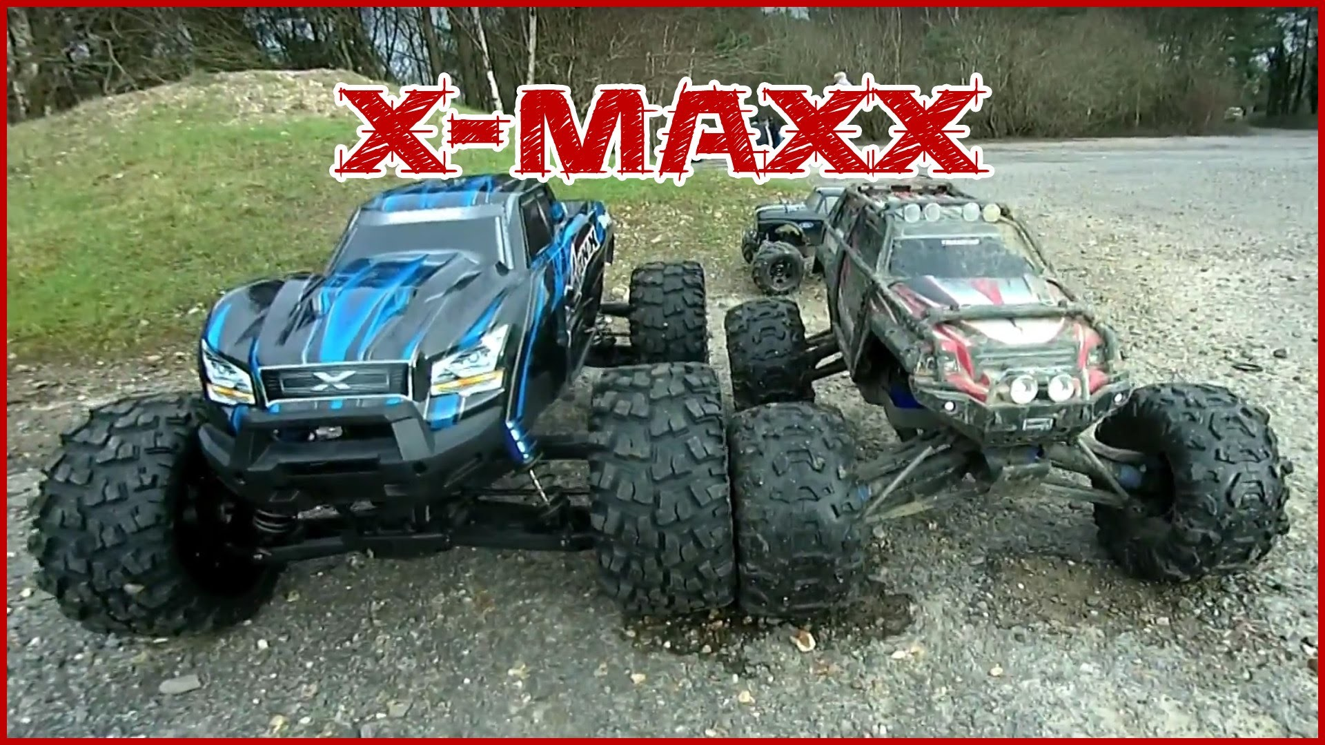 1920x1080 Traxxas X-Maxx - Size Comparision. Summit 1/10, Stampede and Summit 1/16 -  YouTube