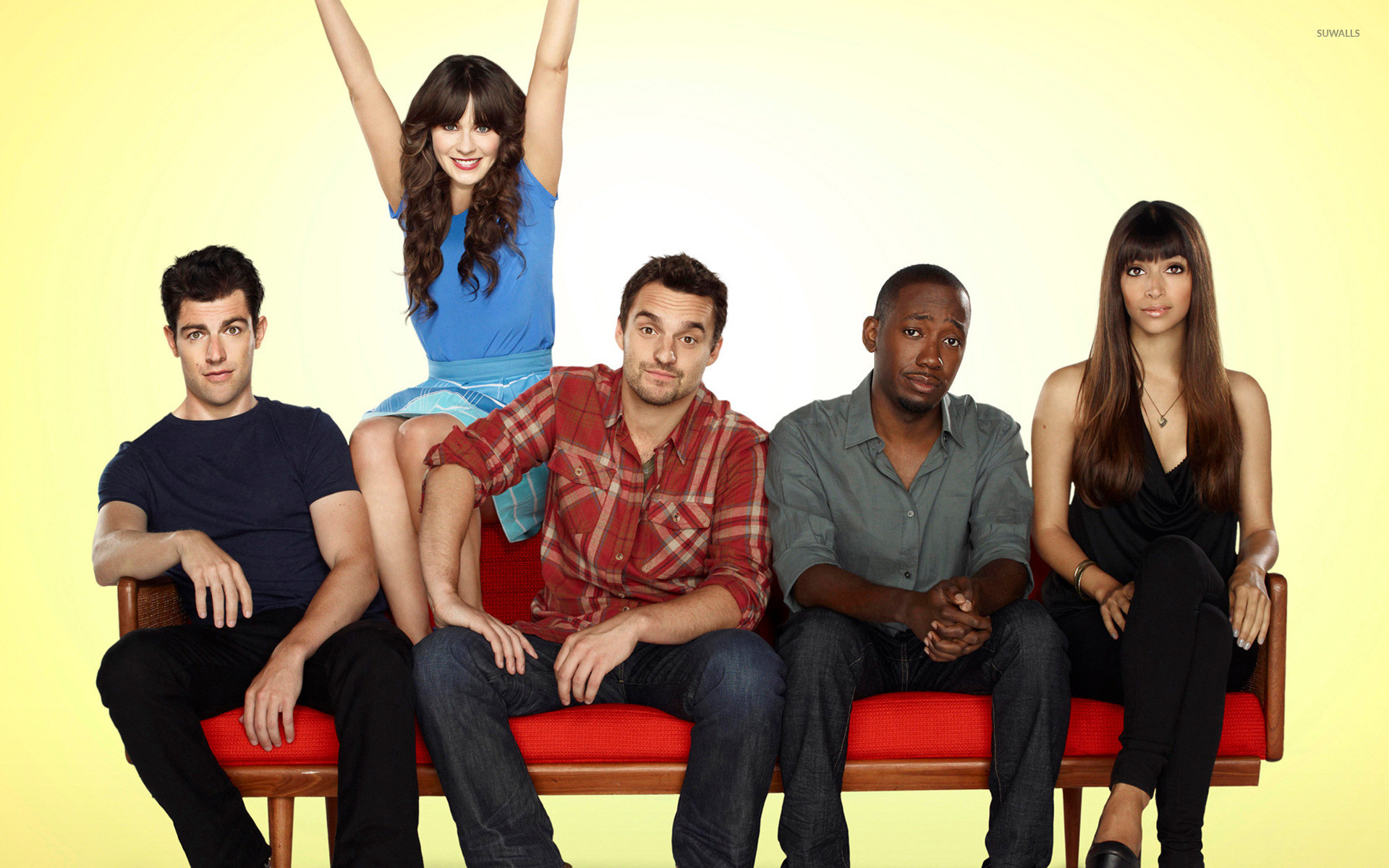 1920x1200 New Girl Wallpapers