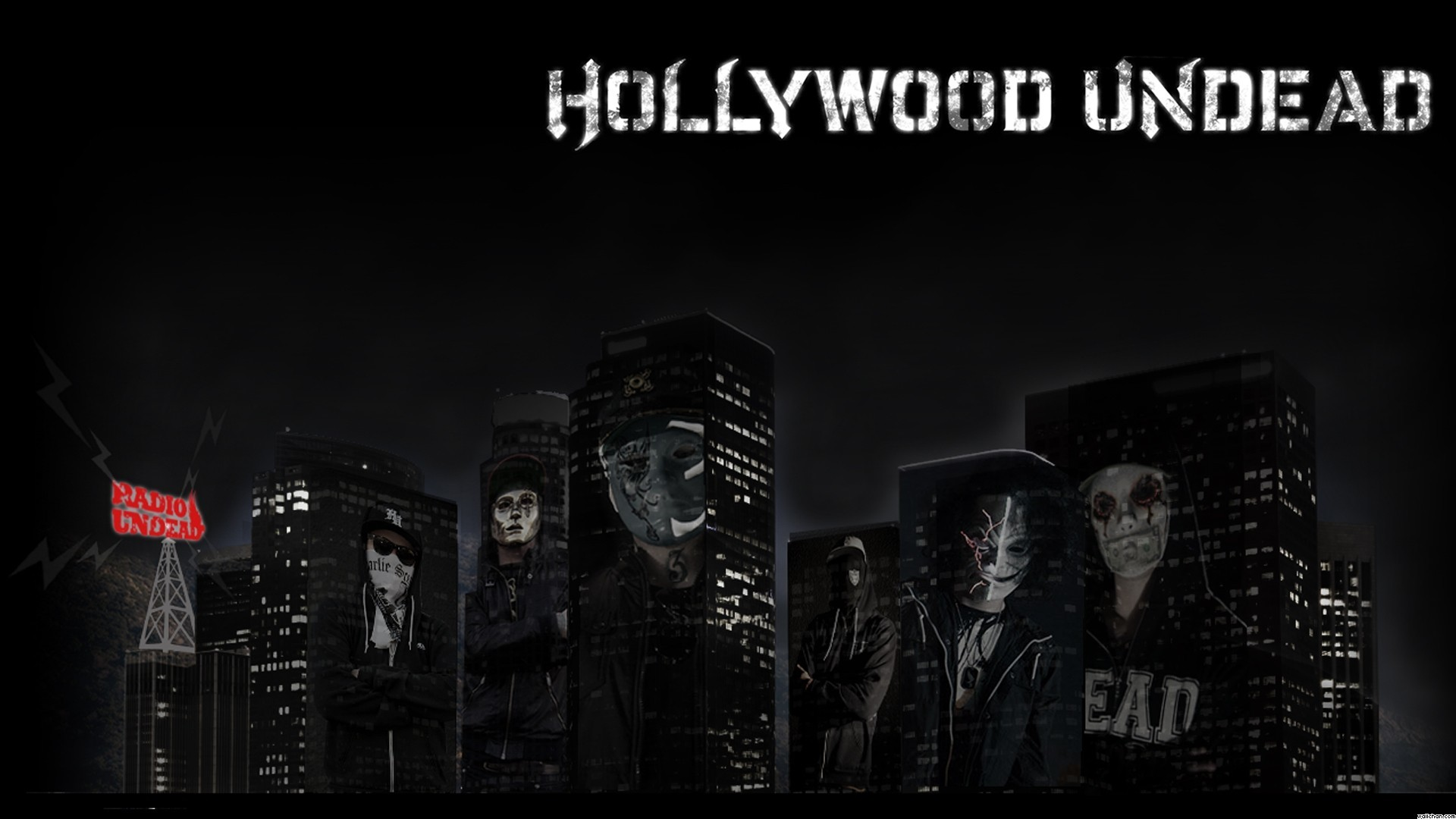 1920x1080 Wallpaper  Rock, Masks, Tshirts, Band, Hollywood, Undead .