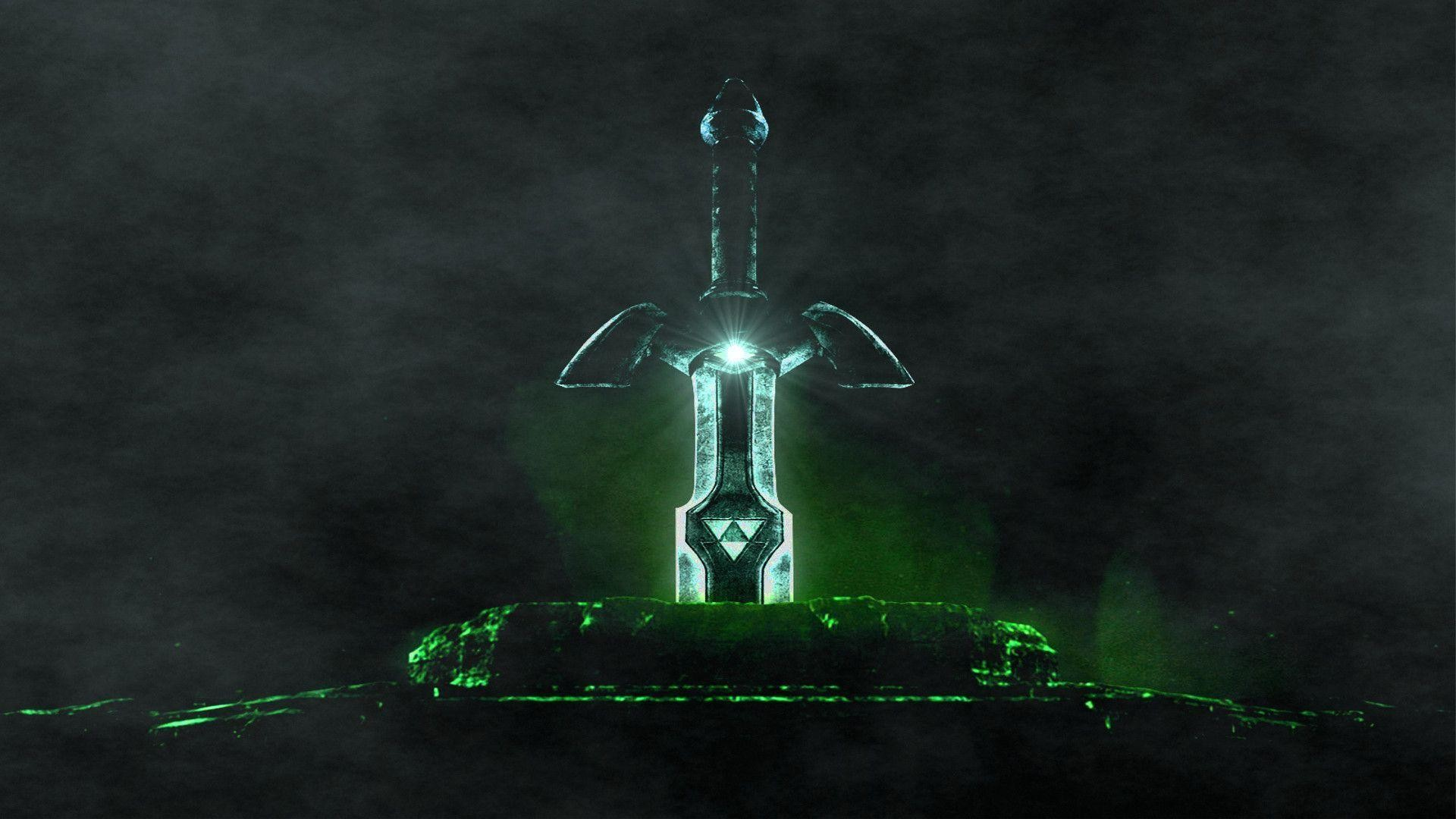 1920x1080 The legend of zelda master sword HD Wallpaper