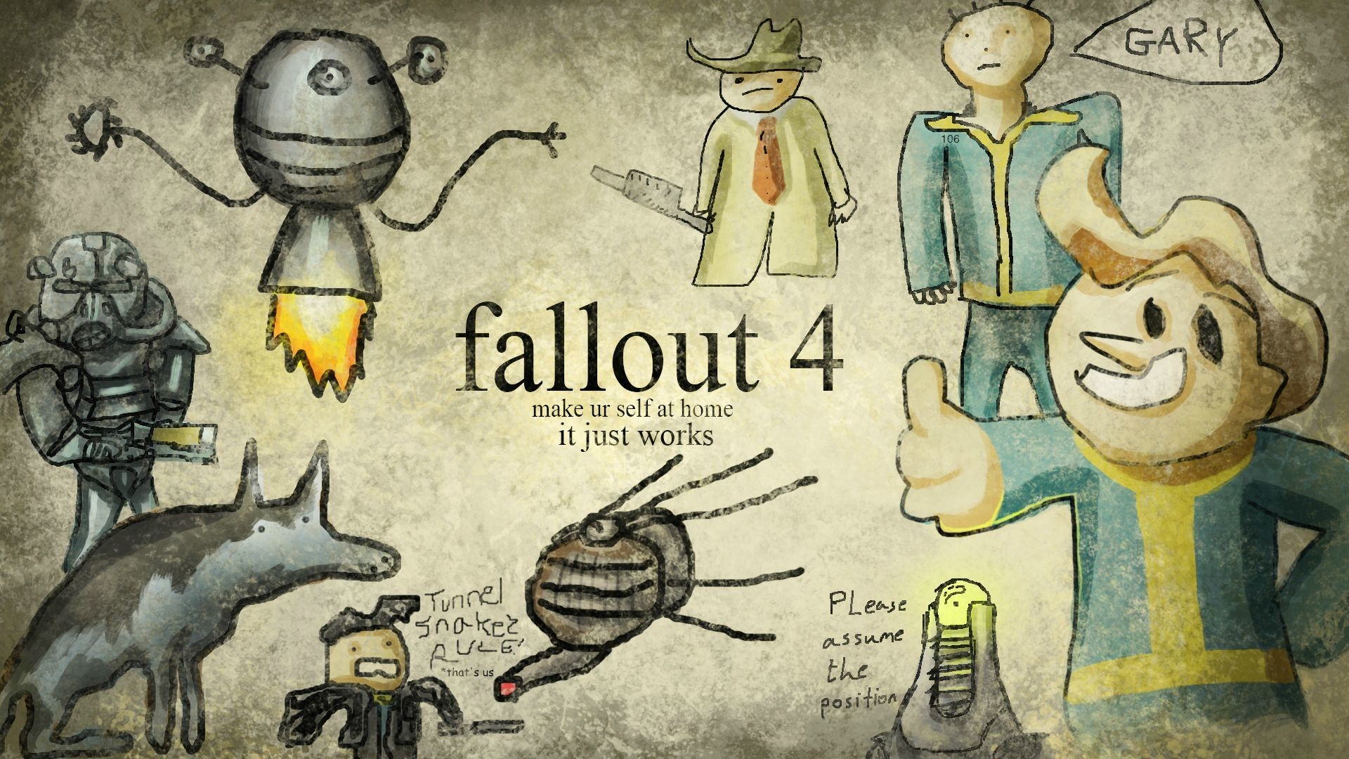 1920x1080 Those are nice, but there is only one true Fallout wallpaper.