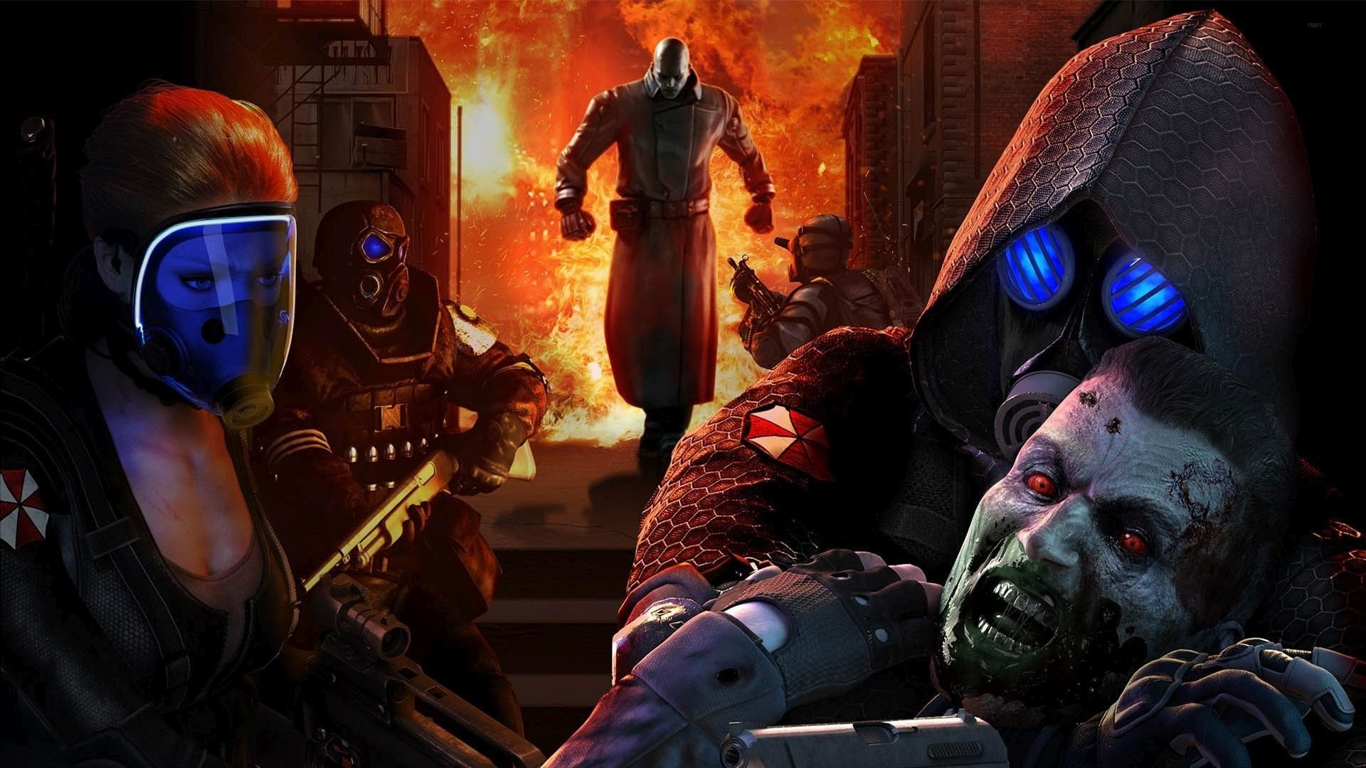 Resident Evil Operation Raccoon City Wallpapers