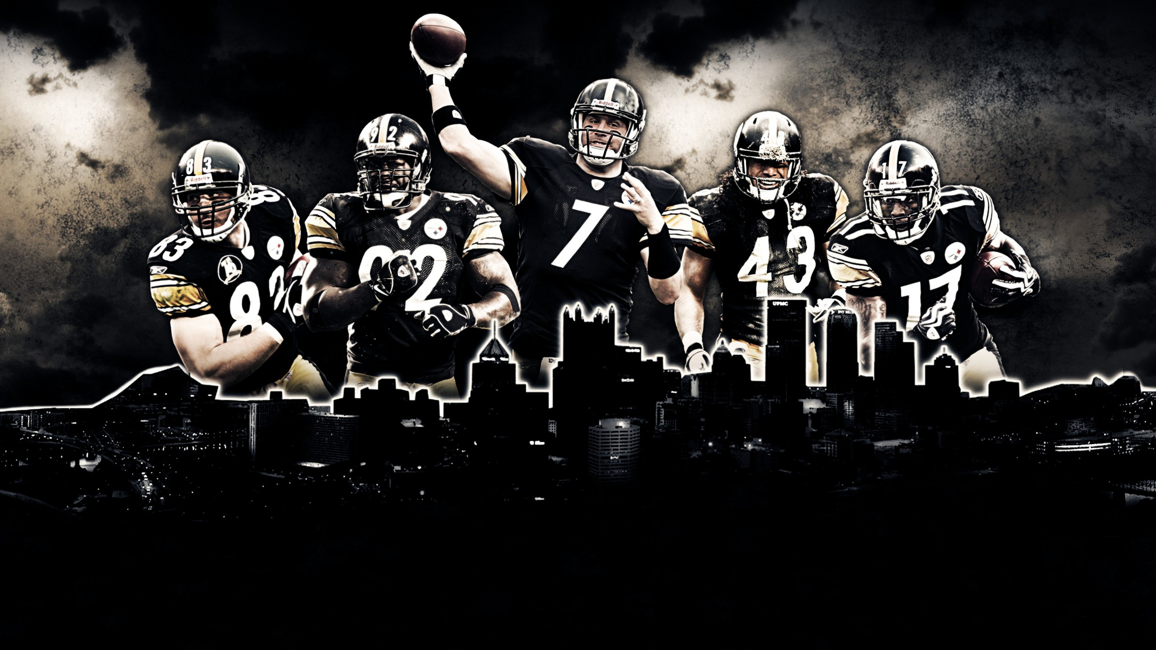 Nfl football wallpaper 63 images 3840x2160 nfl wallpapers hd team pittsburgh steelers voltagebd Image collections