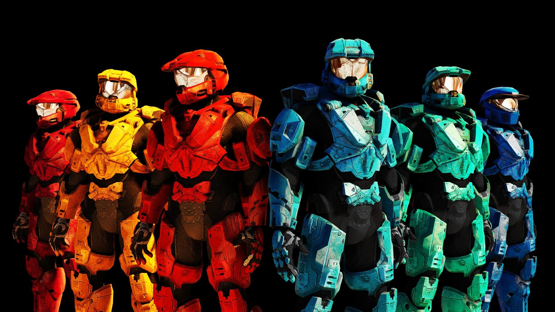 Red Vs Blue Wallpapers 78 Images