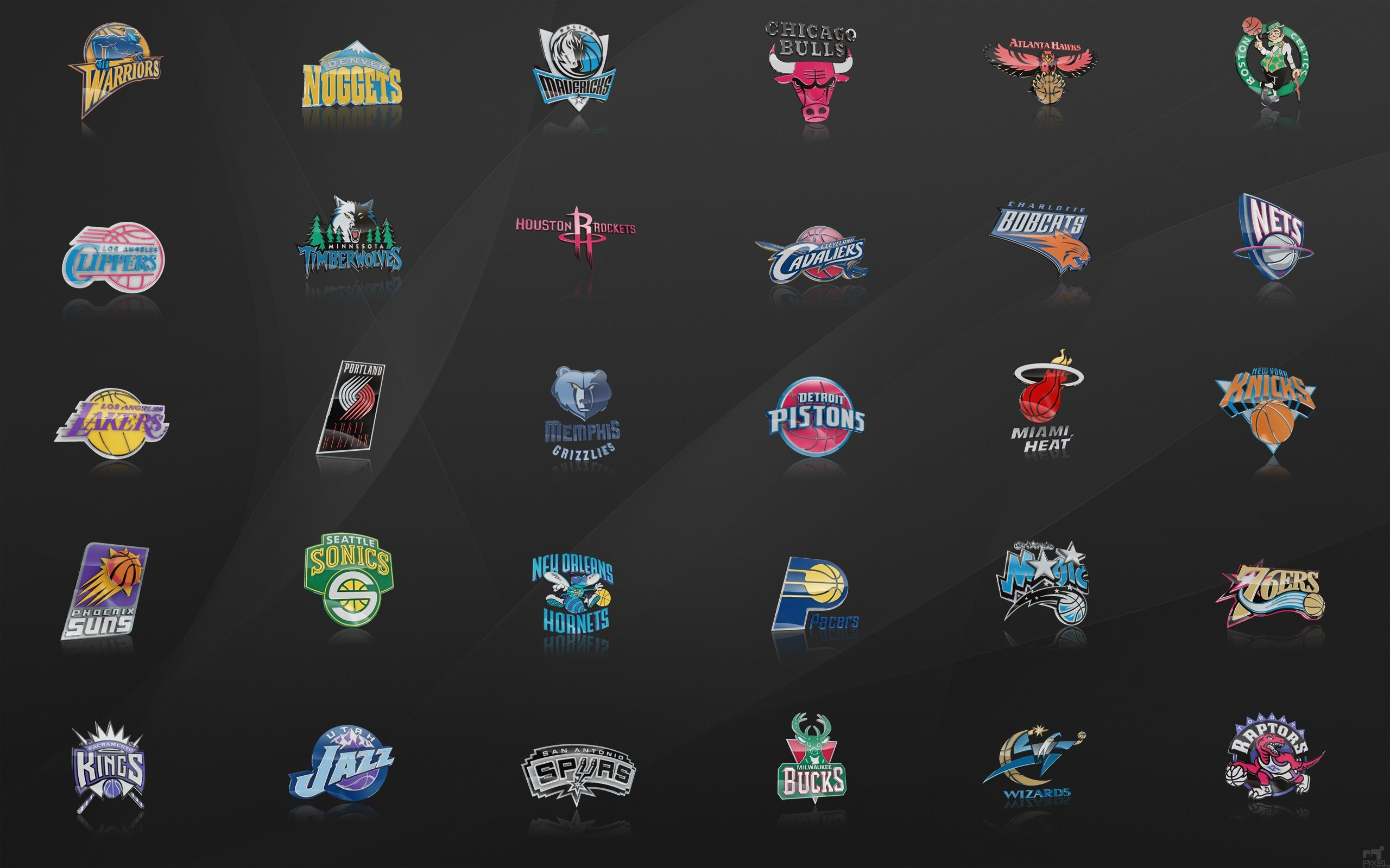 2560x1600 Nba Logo Wallpaper HD #cv8