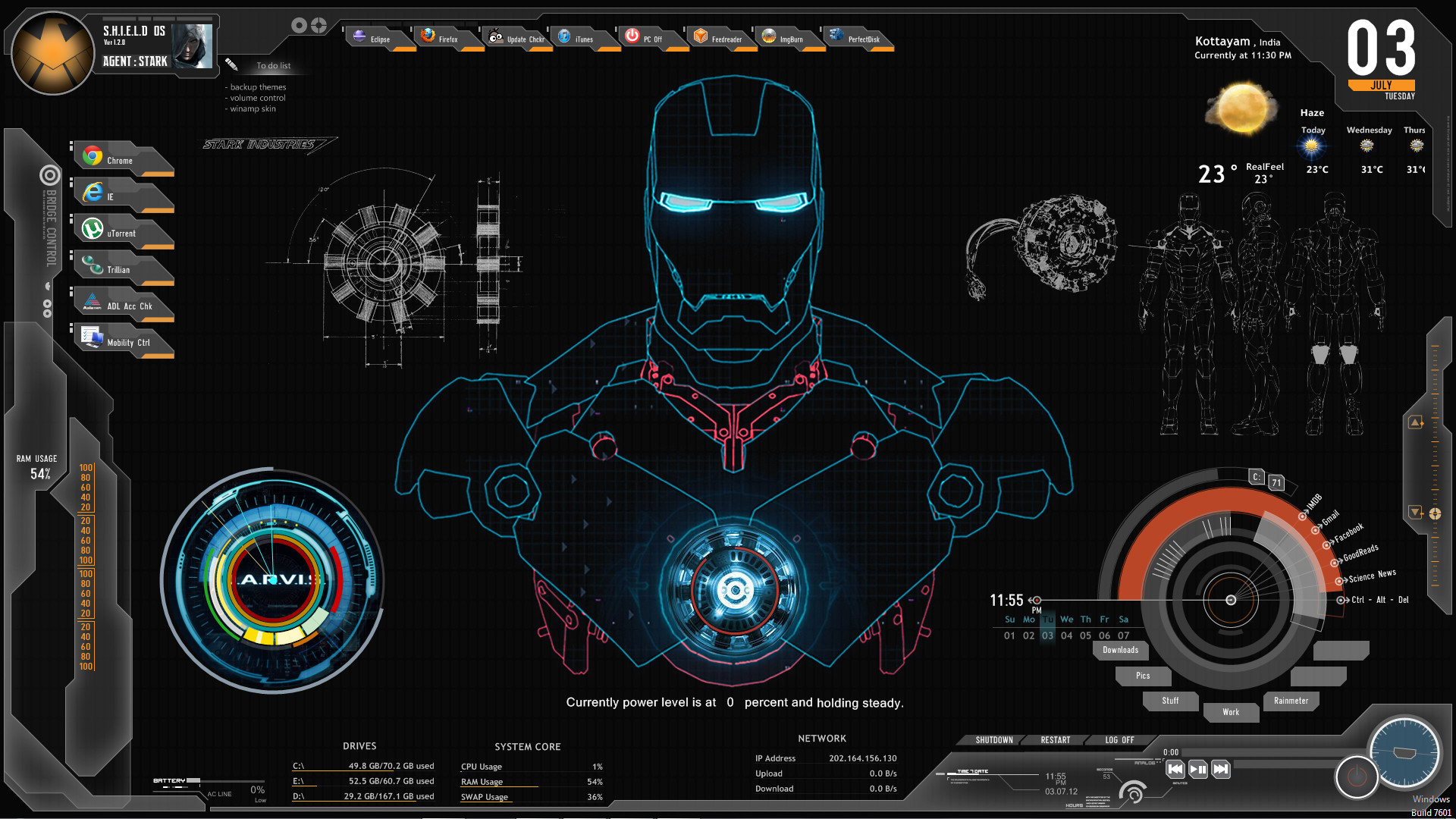 1920x1080 <b>iron man jarvis wallpaper hd</b> for android | <