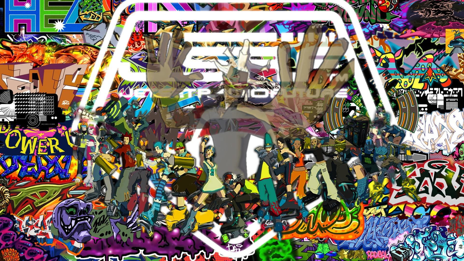 1920x1080 Jet Set Radio Future by FARetis on DeviantArt
