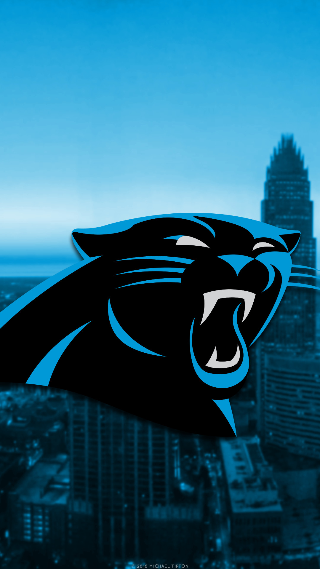1080x1920 ... galaxy Carolina Panthers city 2017 logo wallpaper free iphone 5, 6, 7,  galaxy s6