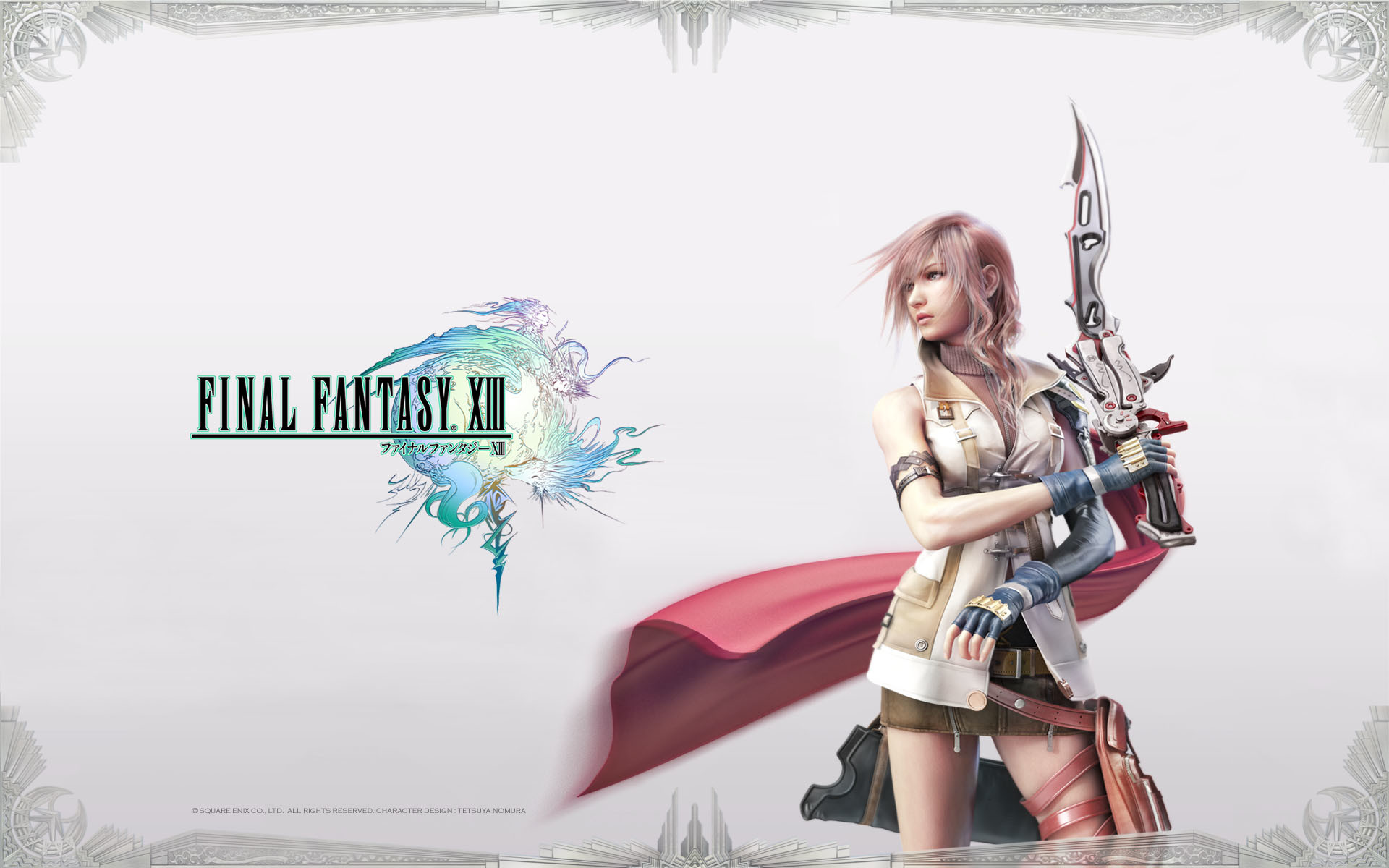 1920x1200 ... Final Fantasy XIII 2 Lightning Wallpapers | HD Wallpapers ...