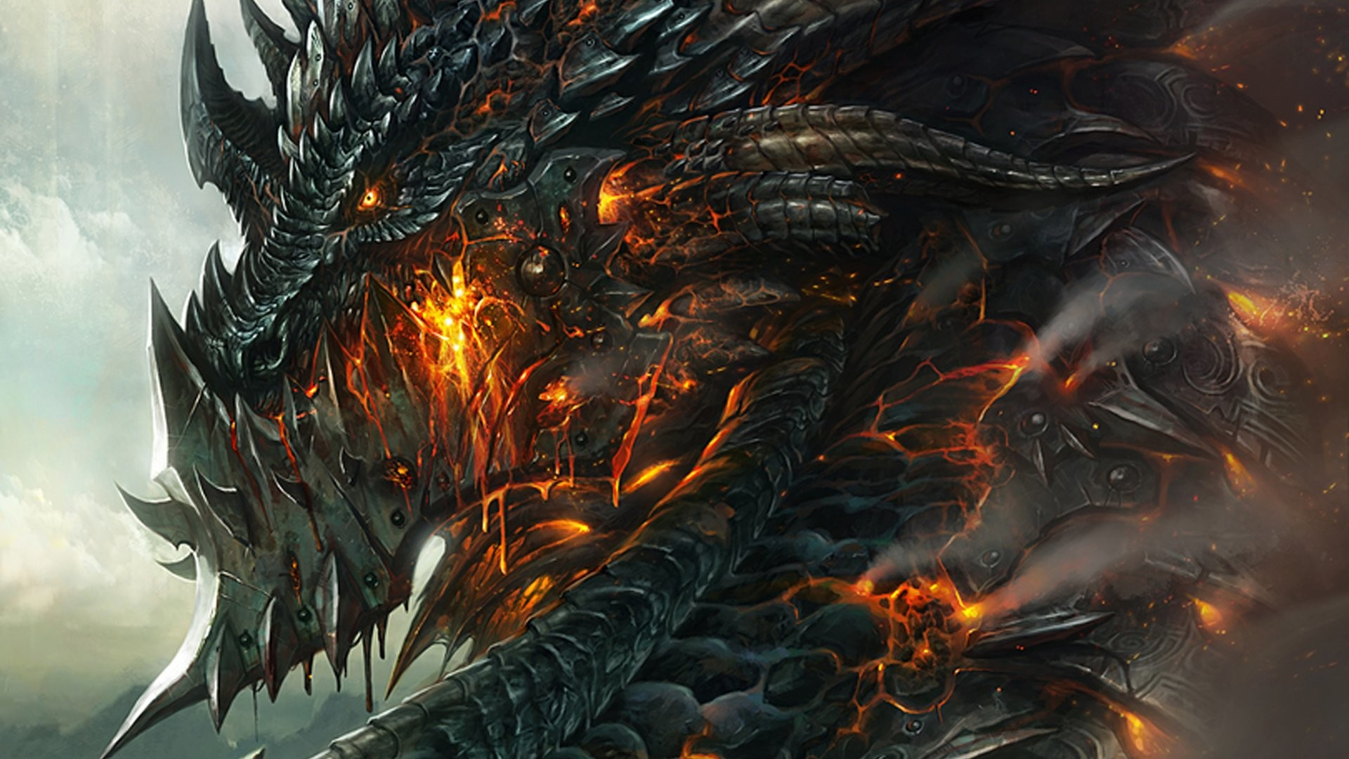 1920x1080 Awesome Dragons