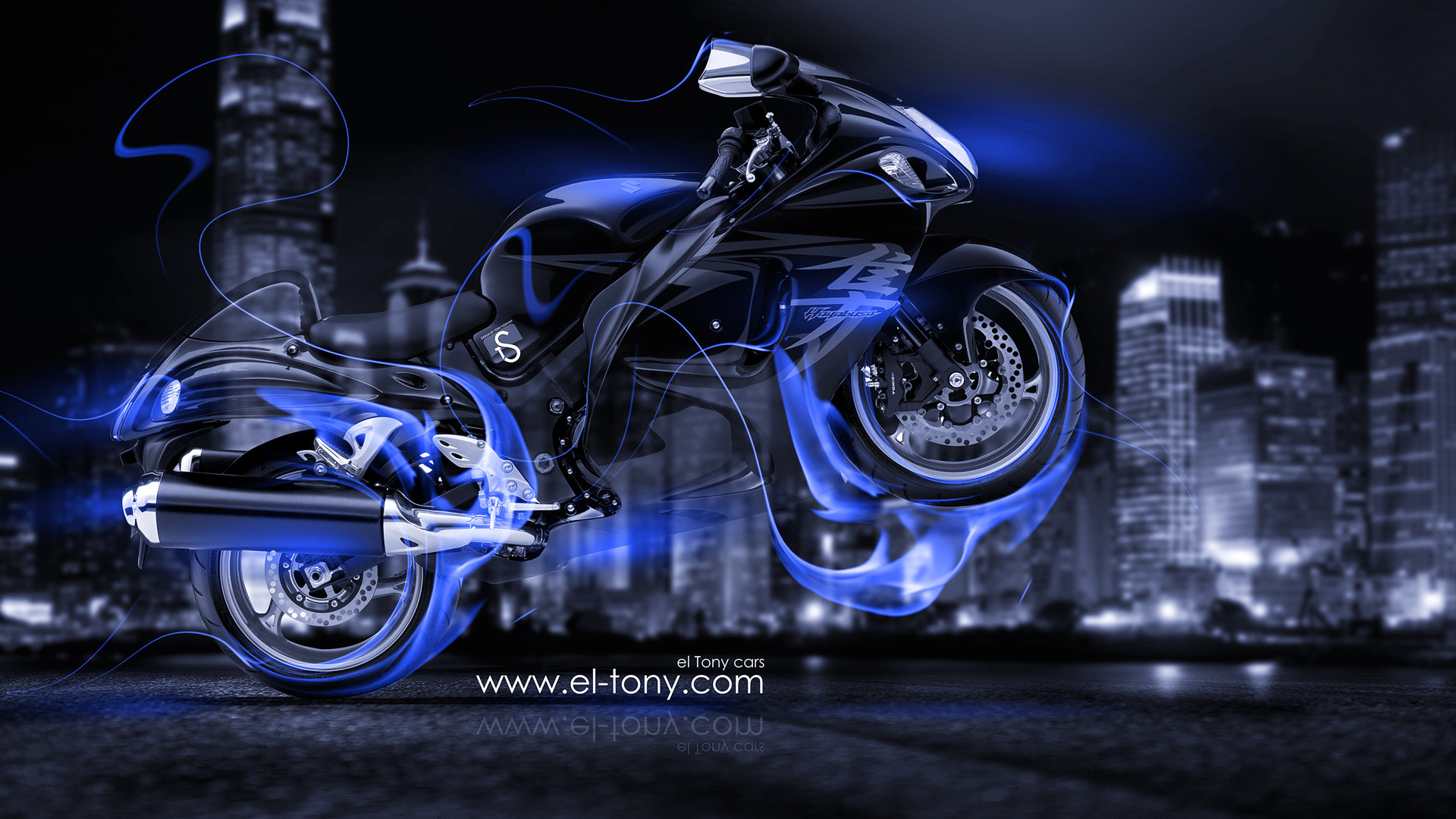 3840x2160 Moto Suzuki Hayabusa Side Super Fire Abstract Bike 2016  Wallpapers 4K Design By Tony Kokhan
