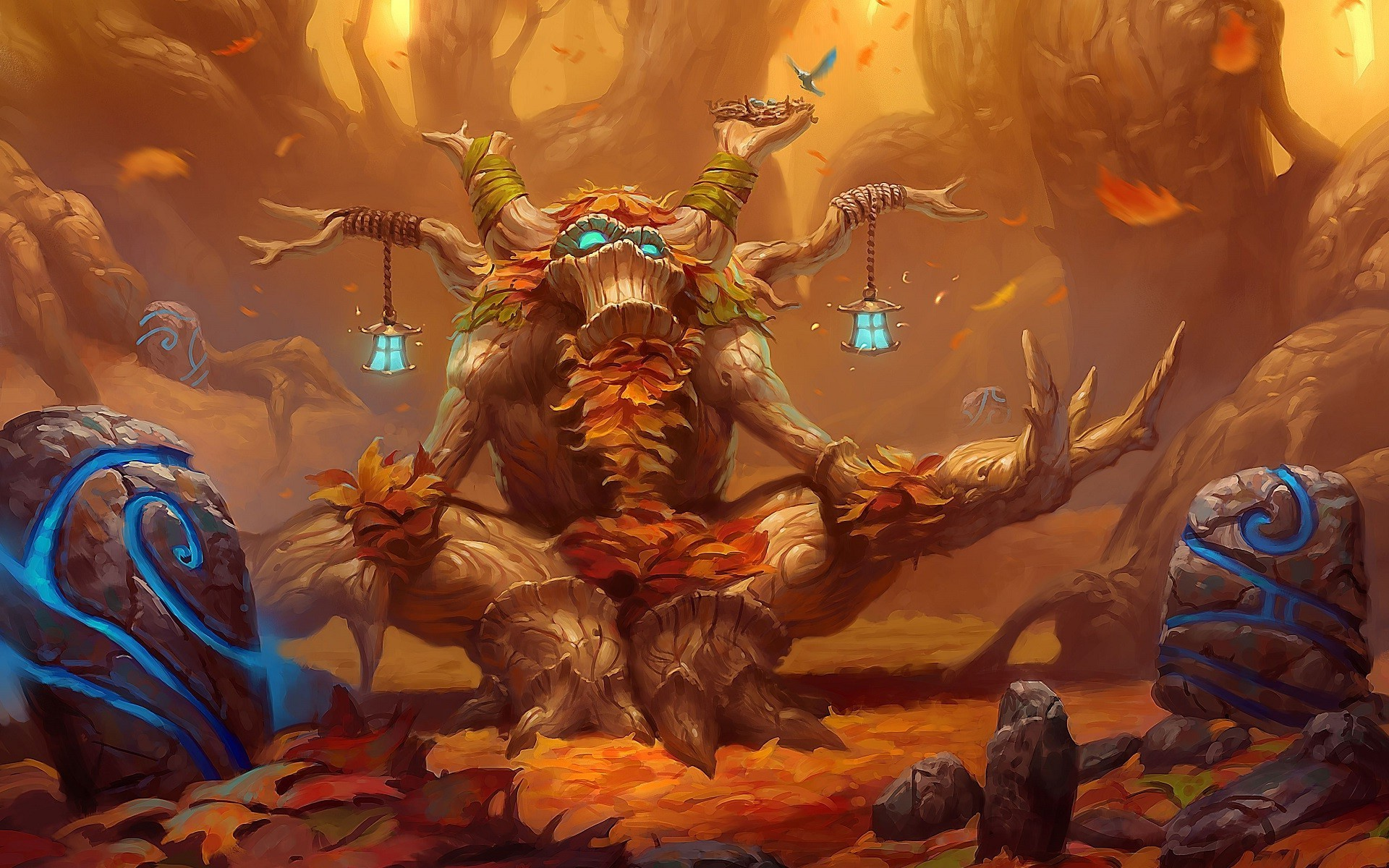 1920x1080 Download Now Full Hd Wallpaper Hearthstone Main Characters Fair