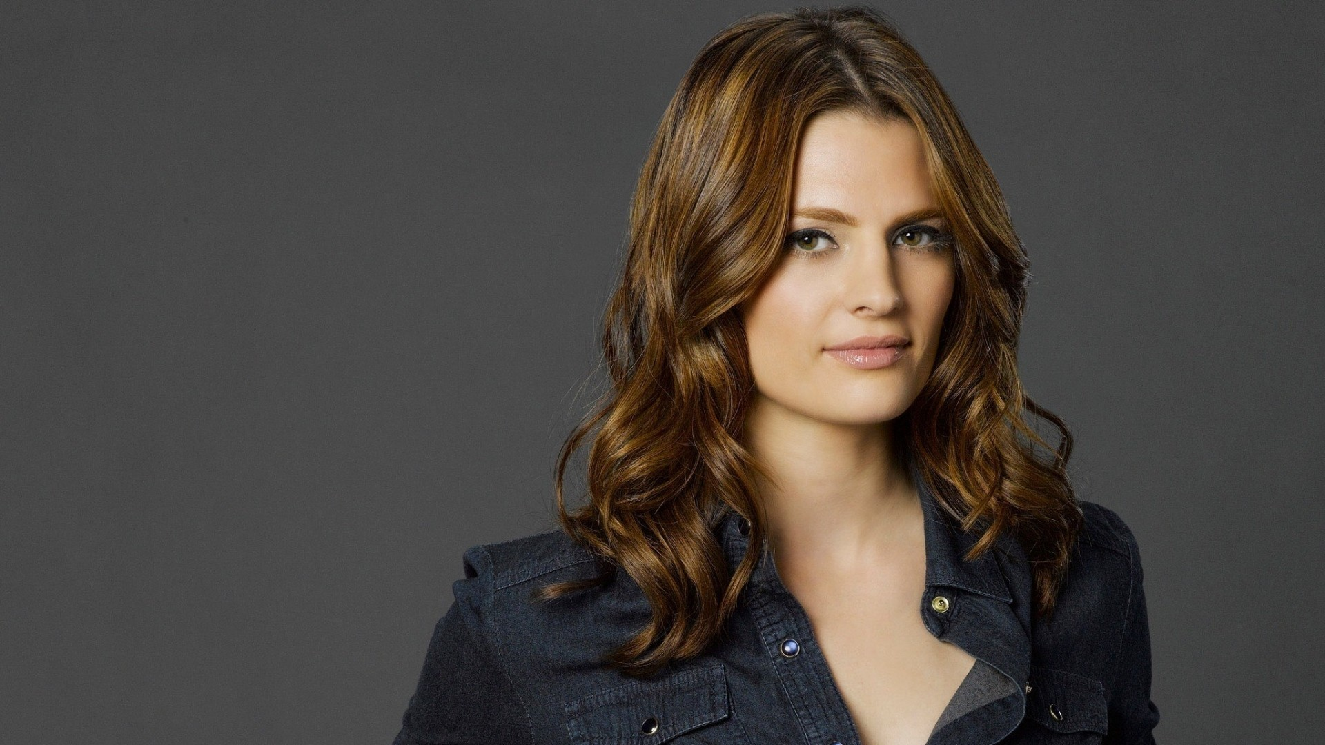 1920x1080 Preview wallpaper castle, kate beckett, stana katic