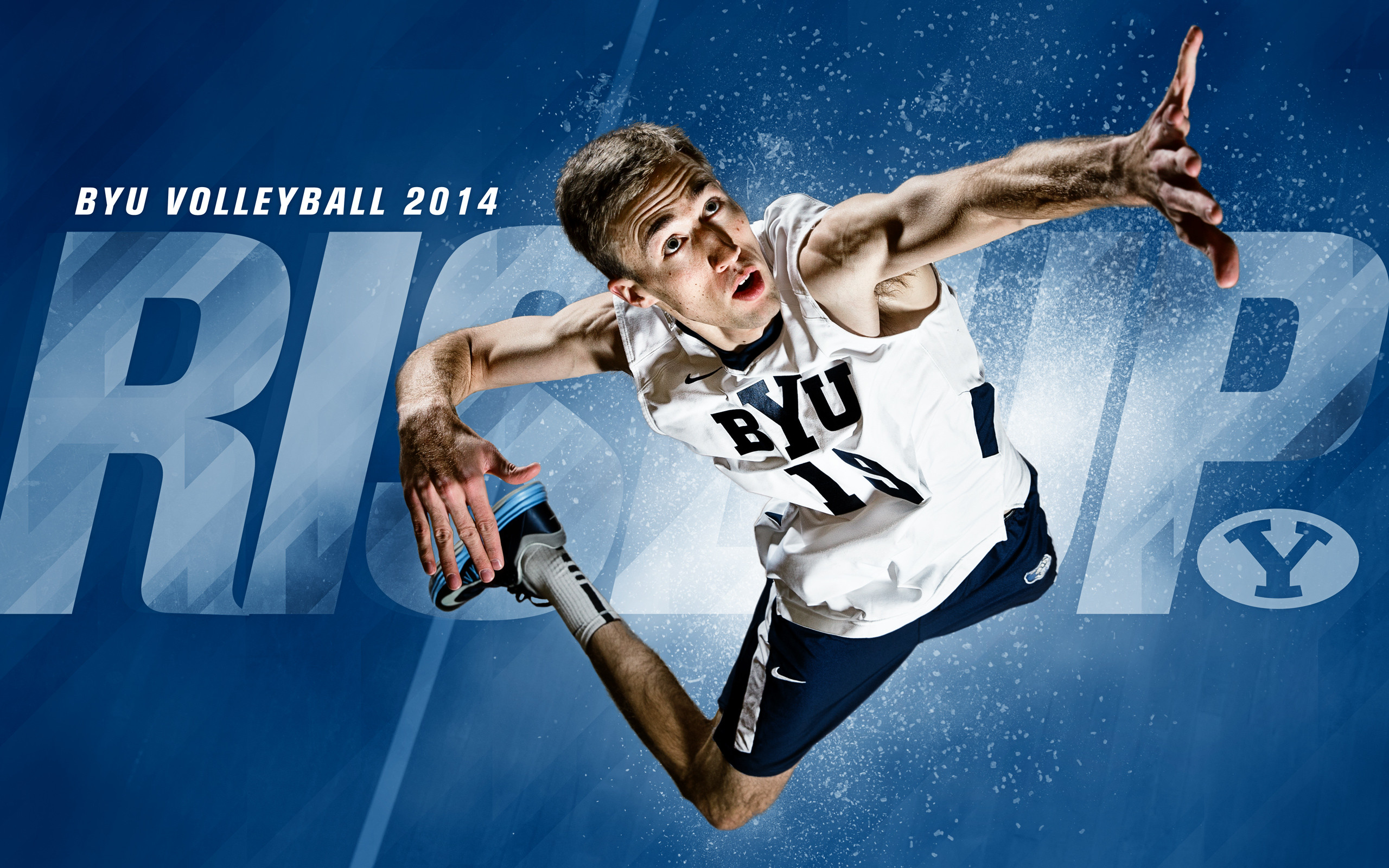 2560x1600 2014 - Devin Young - BYU Volleyball Wallpaper 2014