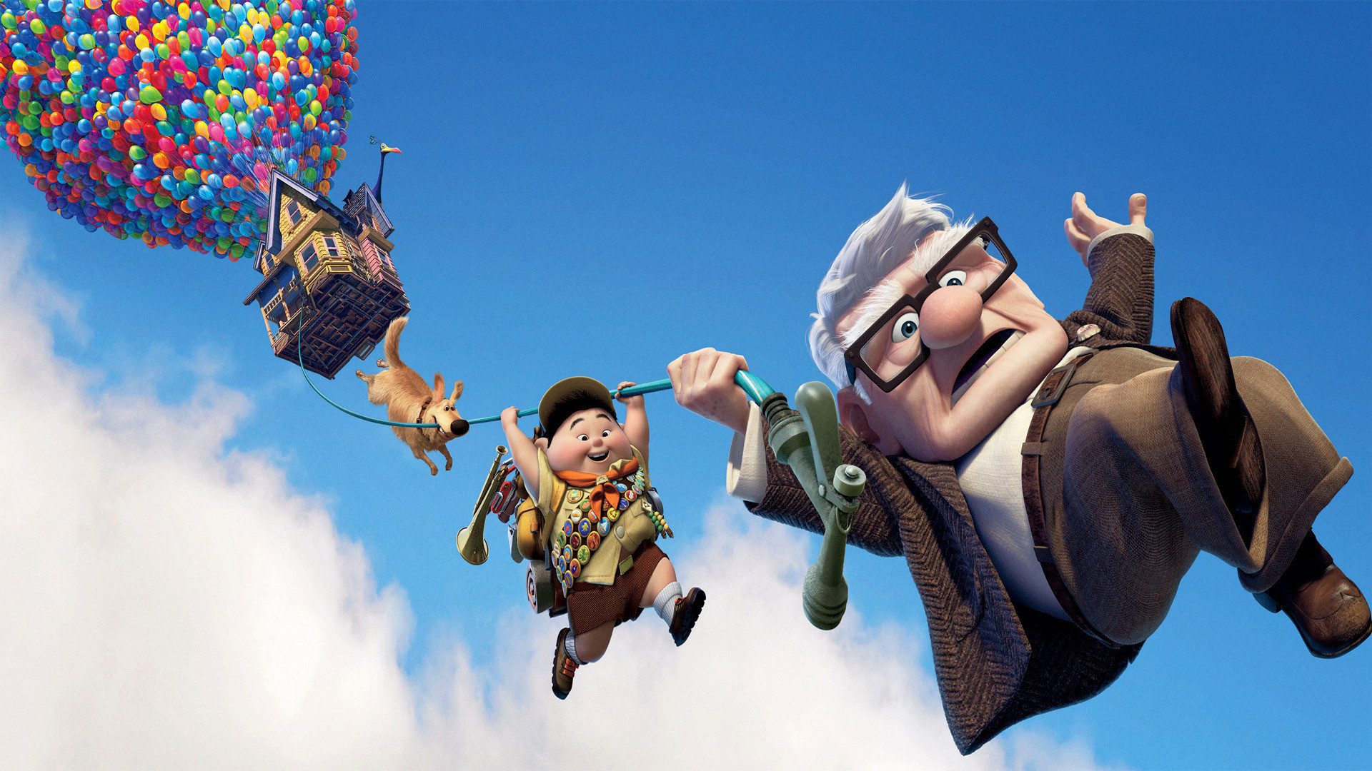 1920x1080 Pixar's UP Dual Monitor HD