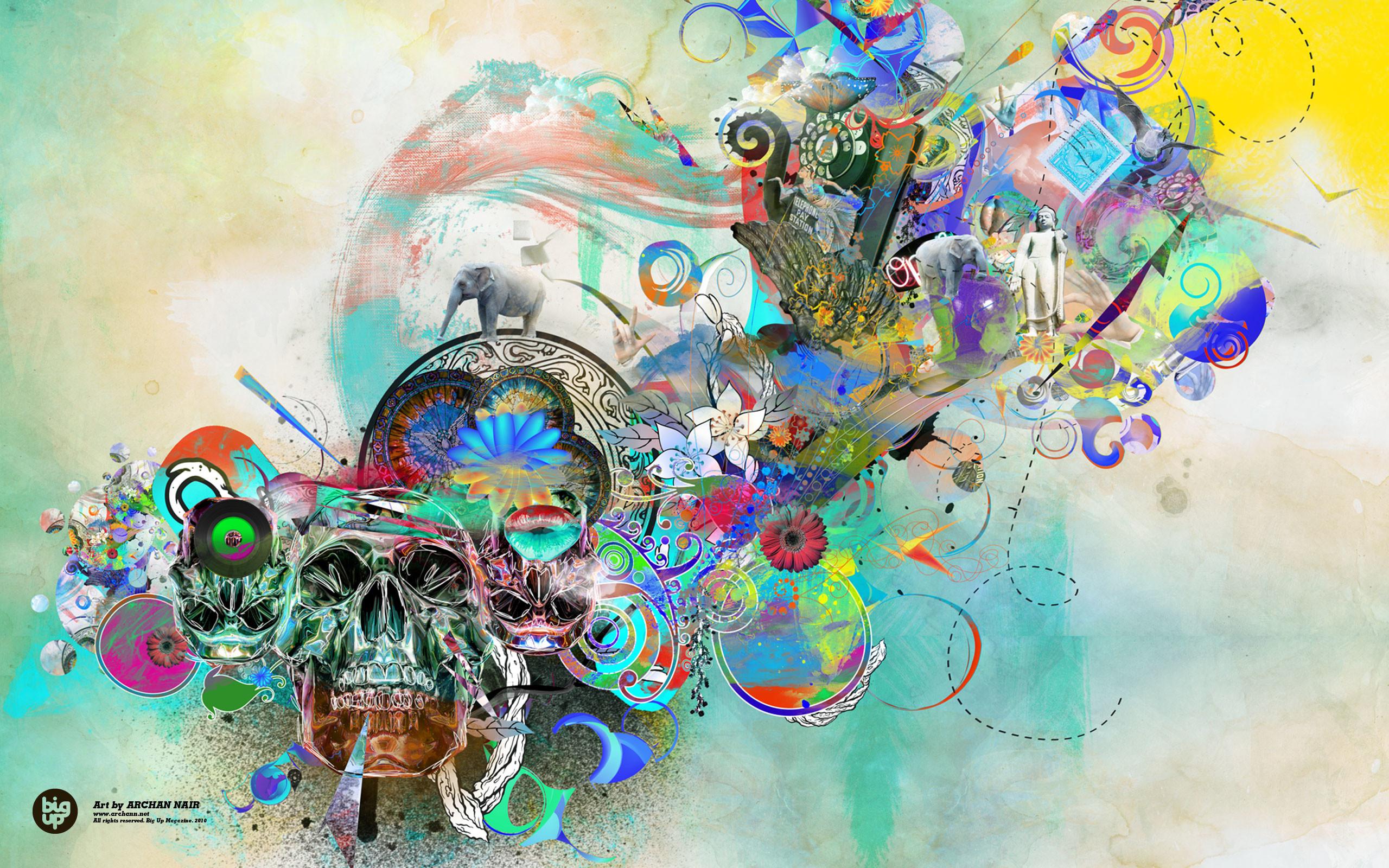 abstract art wallpaper cartoon - photo #38