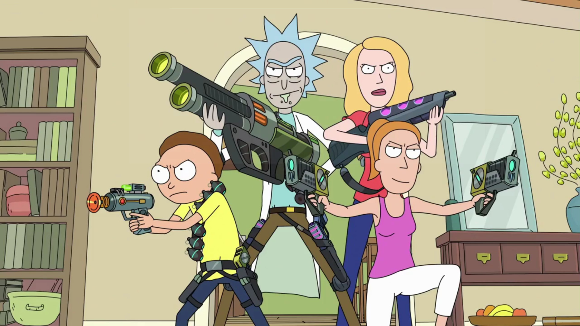 Rick And Morty Season 3 Wallpapers 87 Images