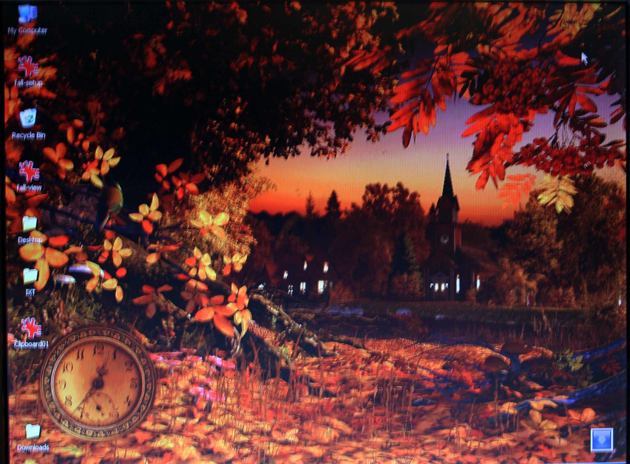 2598x1914 Autumn Wonderland 3D Screensaver and Animated Wallpaper screenshots