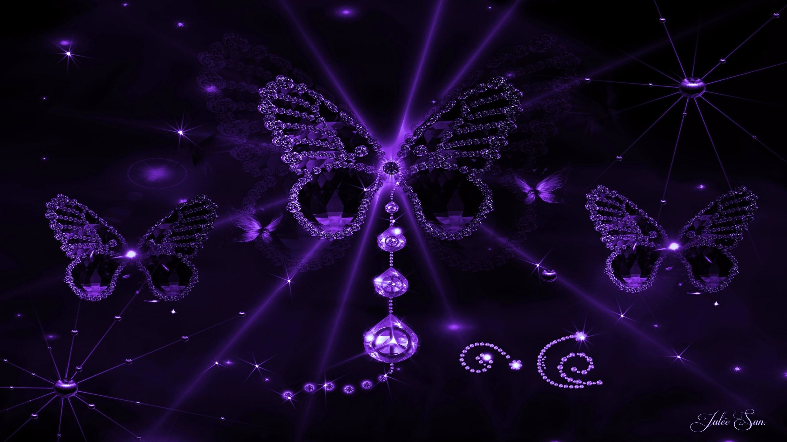Purple Wallpapers 12 Best Wallpapers Collection Desktop: Purple Butterfly Wallpapers (63+ Images