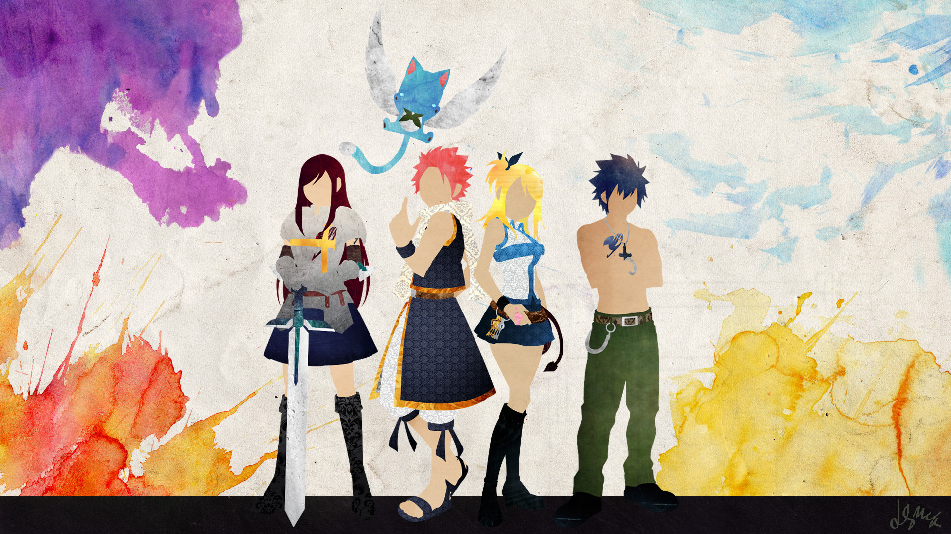 1920x1080 'Fairy Tail' wallpapers ()