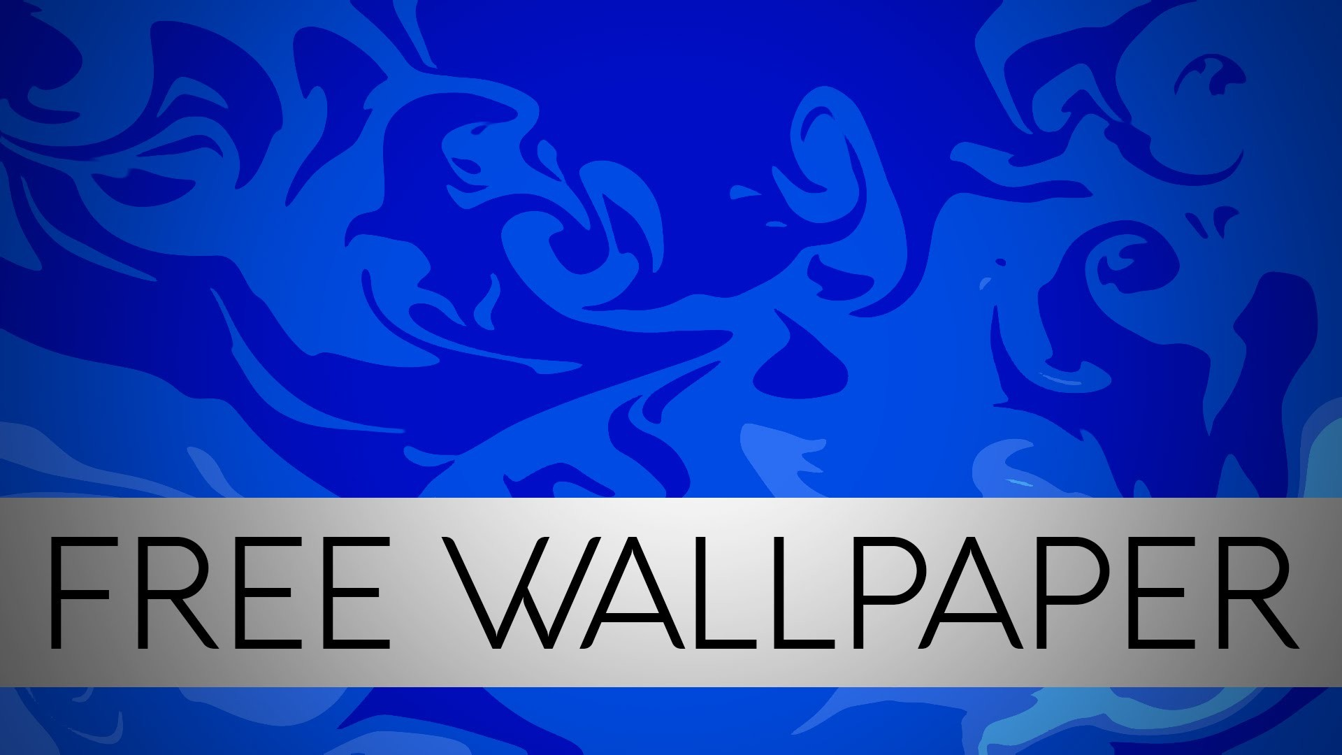 1920x1080 Blue 2D Wallpaper (FREE DOWNLOAD) // by Supreme Graphics