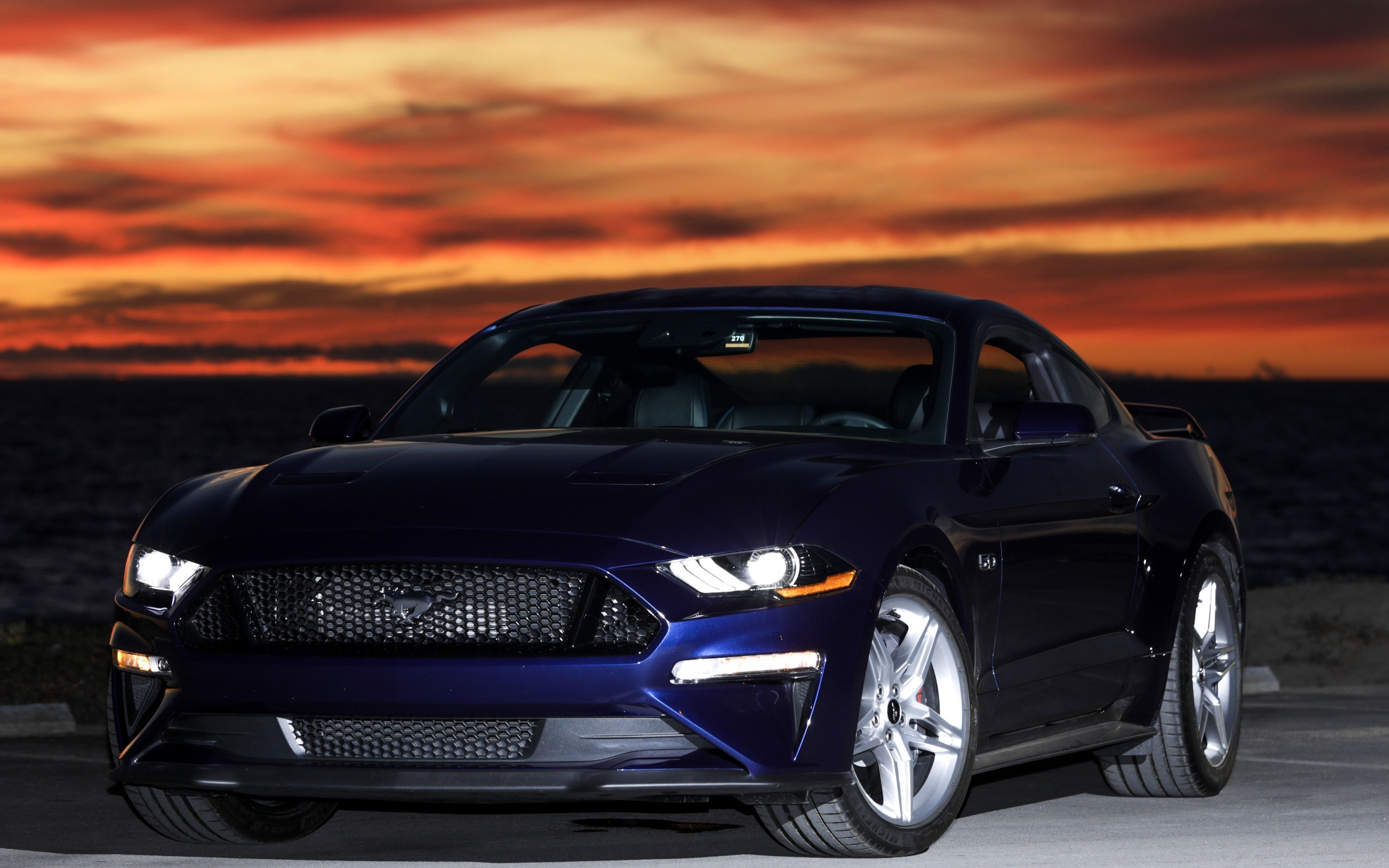 2880x1800 Tags: Ford Mustang GT Fastback, 2018 ...