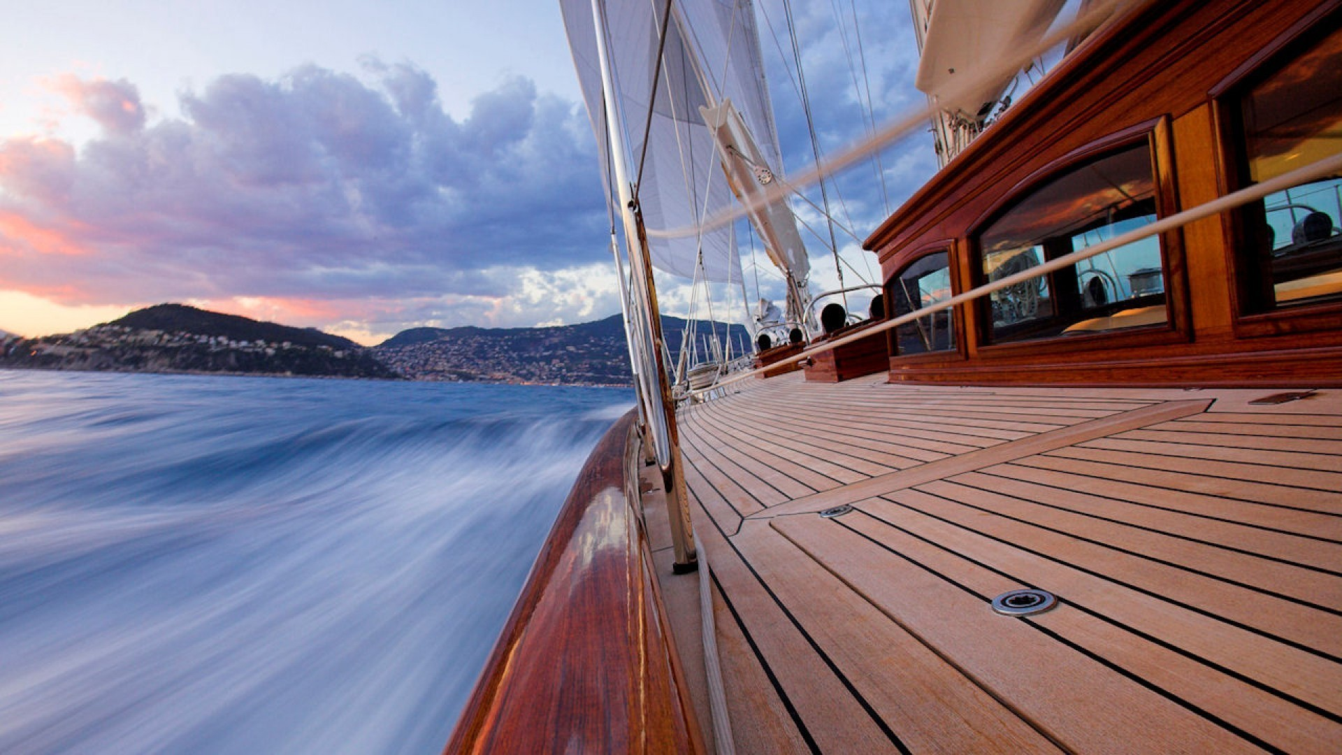 1920x1080 Sailing in the french riviera wallpaper