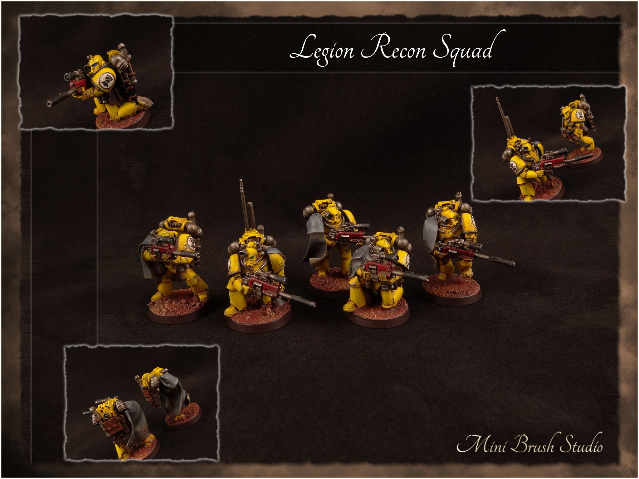 2048x1536 Forge World - Legion MKIV Recon Squad ( Imperial Fists )