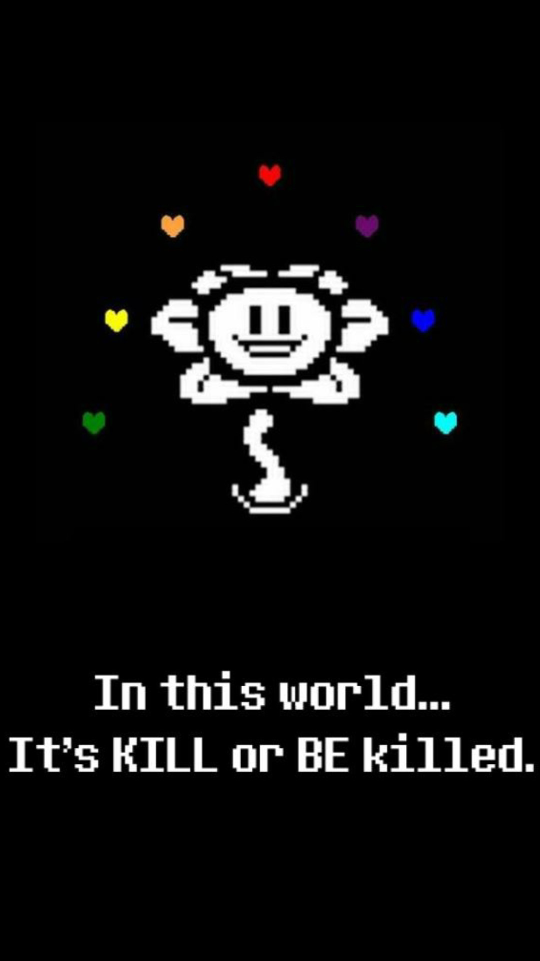 1080x1920  ... i made an Undertale mobile wallpaper!