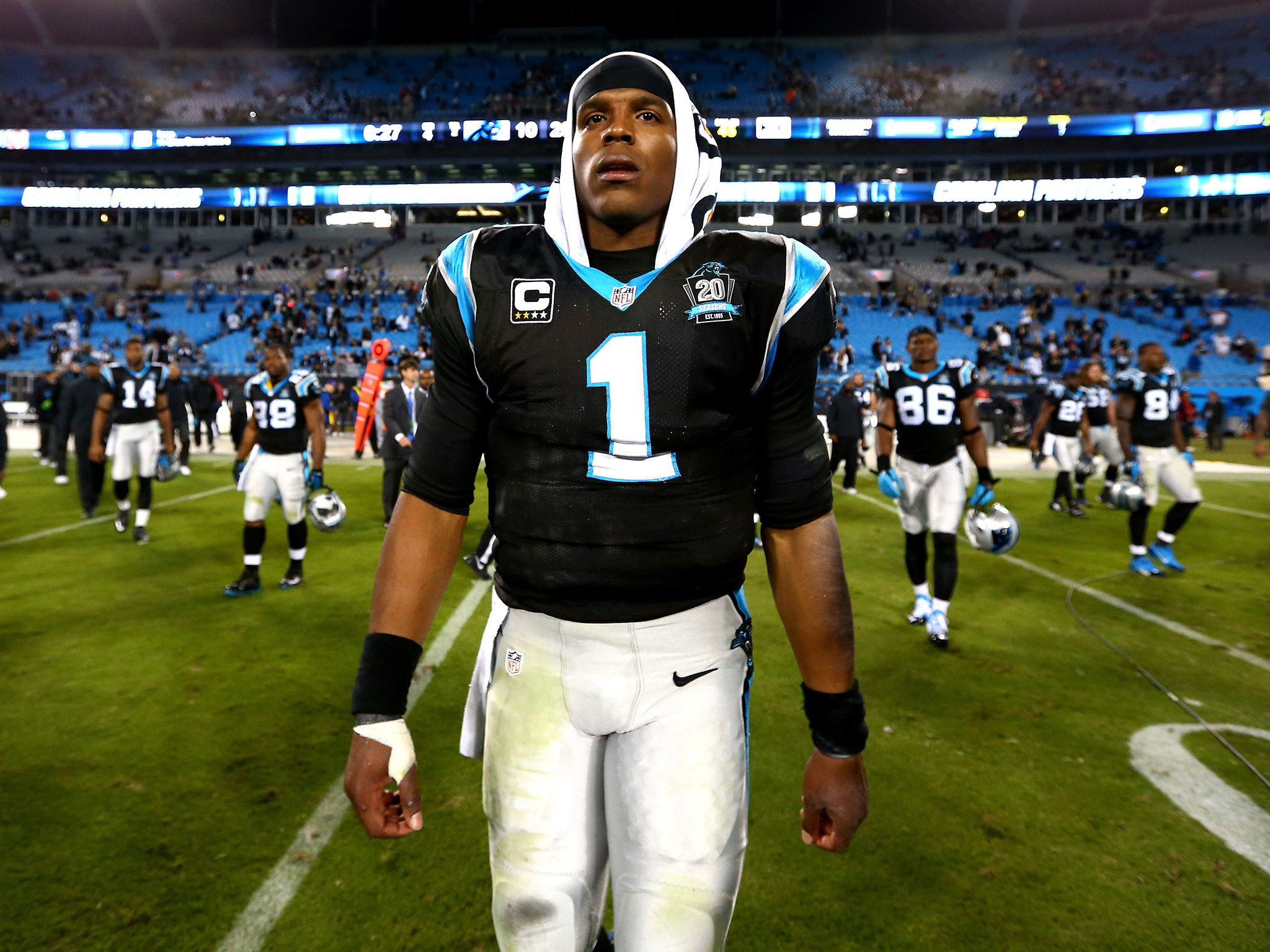 2048x1536 Cam Newton car crash: Carolina Panthers quarterback injured after accident  | The Independent