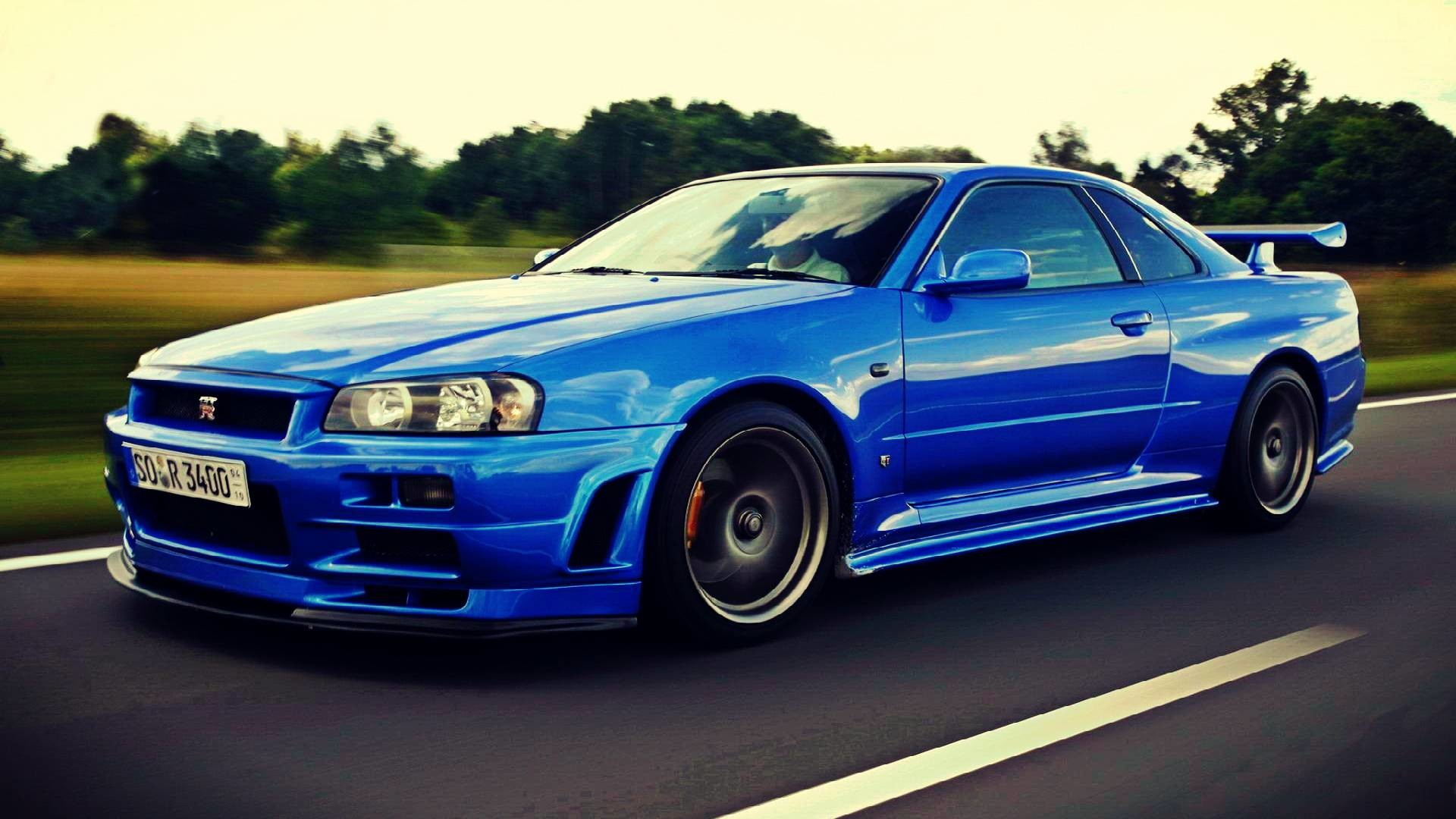 1920x1080 Nissan Skyline GTR R34 Wallpapers Group (89+)