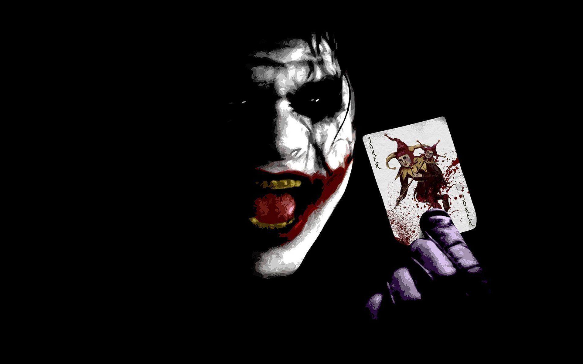 1920x1200 Scary Clown Wallpaper Fantasy Art Teeth Fan