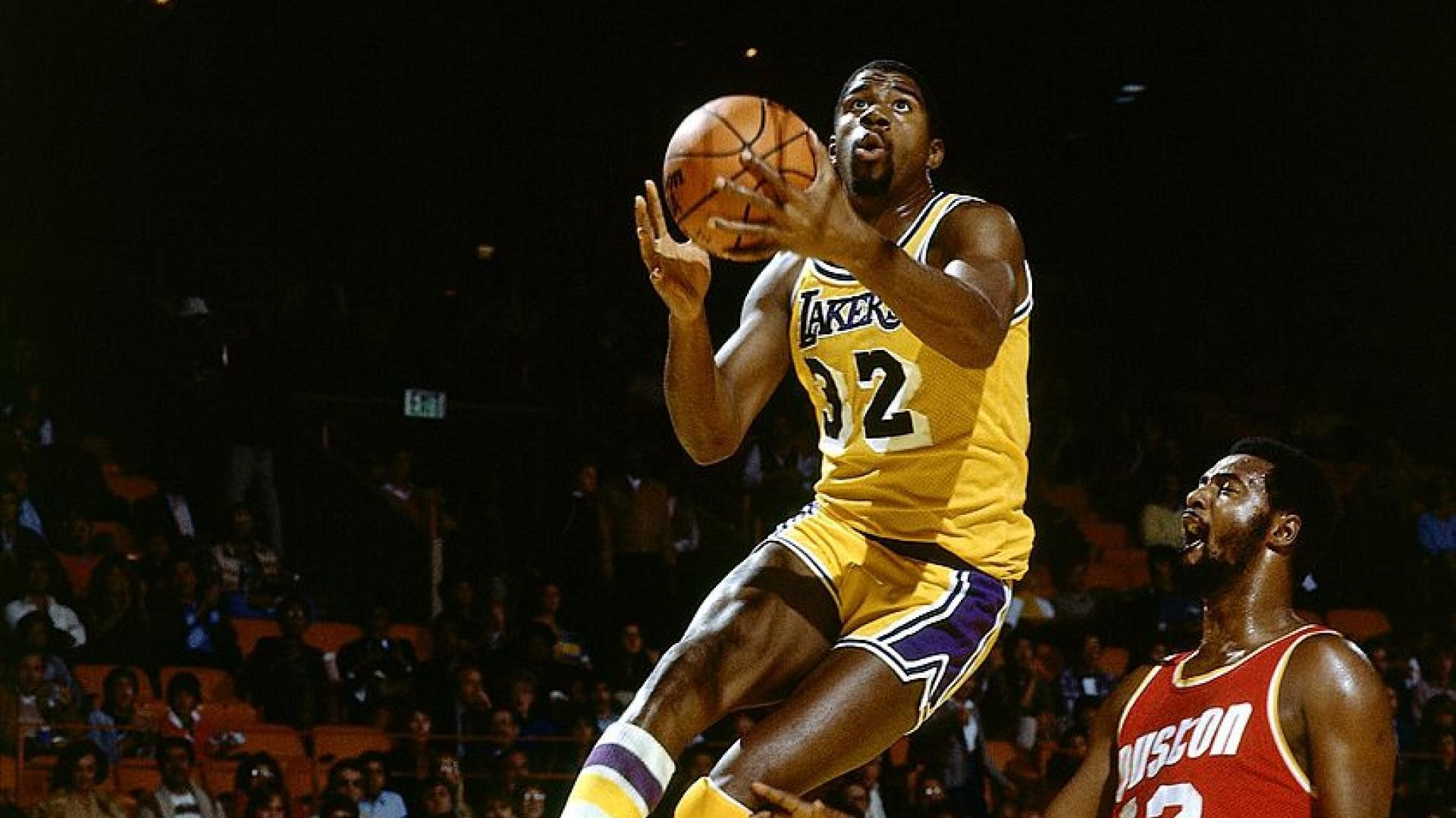 1920x1080 Magic Johnson's size and playmaking ability made him stand out in NBA lore.
