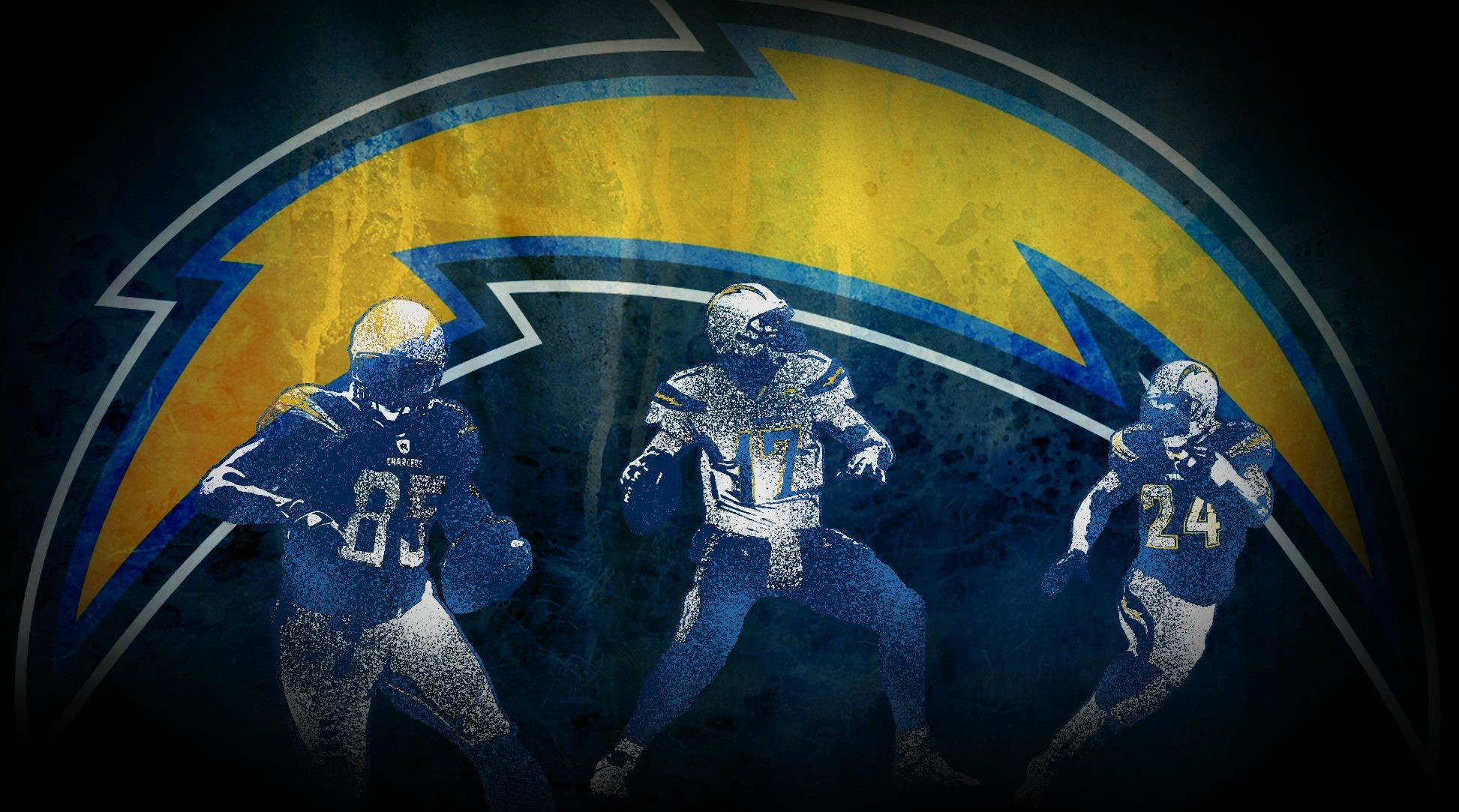 1945x1083 San Diego Chargers Wallpaper I Made