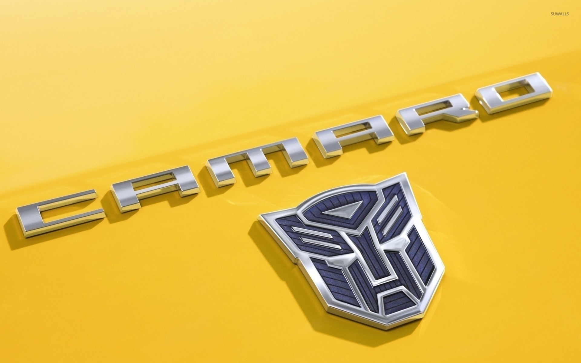 1920x1200 chevrolet camaro logo in transformers wallpaper – car wallpapers. Download  Image 1920 X 1200