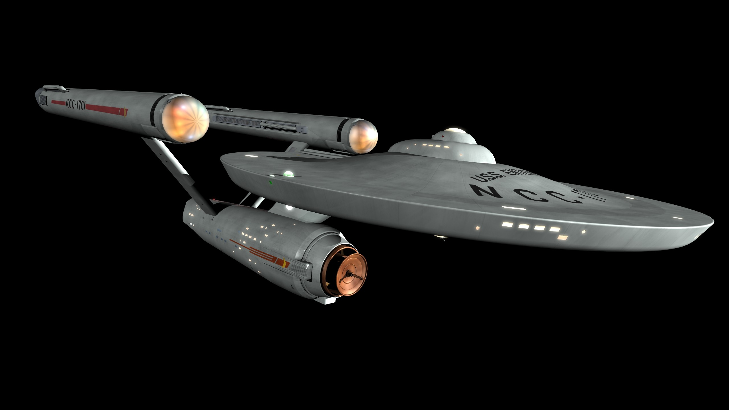 2560x1440 ... Star Trek the Next Generation on Board the U.S.S. Enterprise NCC .