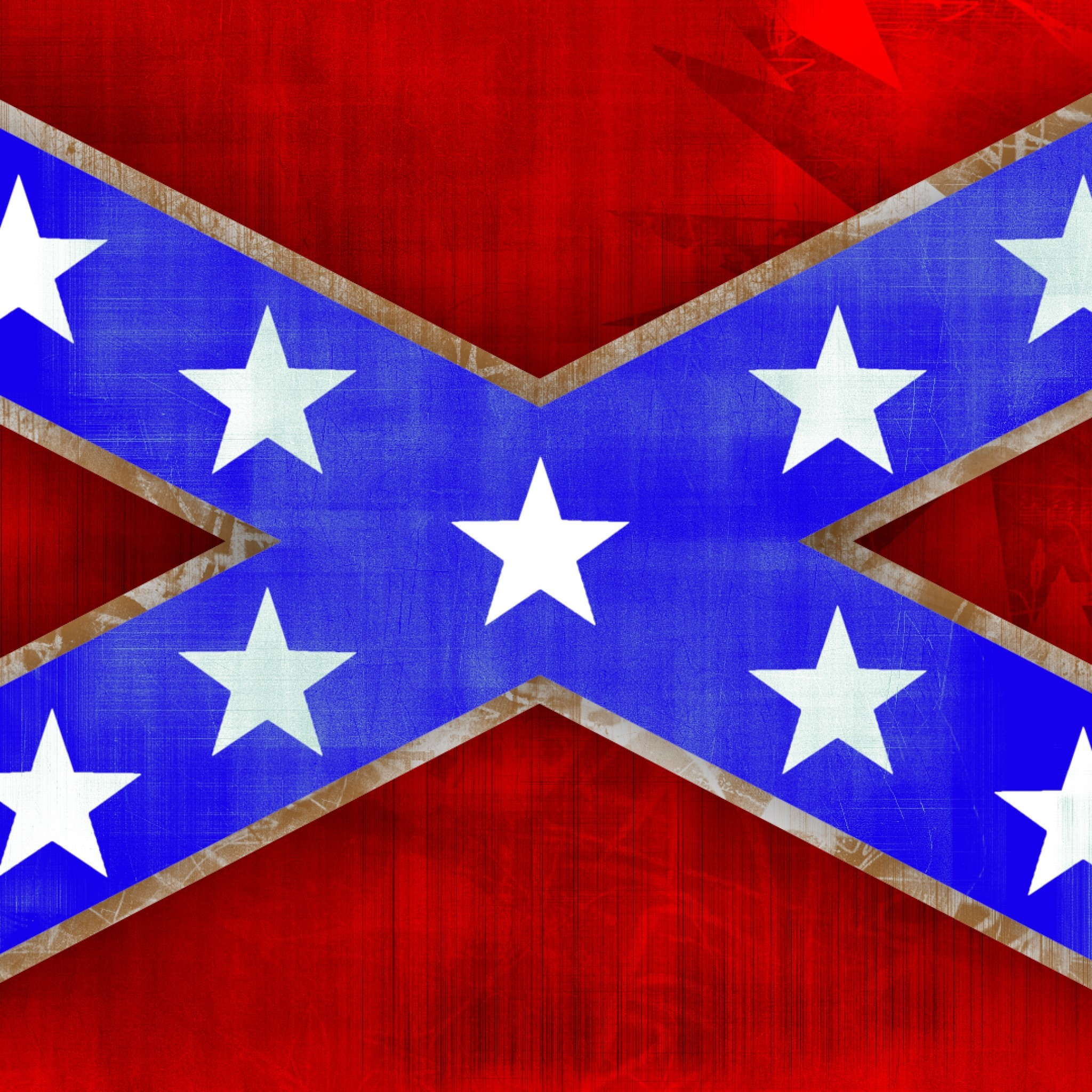 2048x2048 Preview wallpaper confederate flag, south carolina, flag, texture