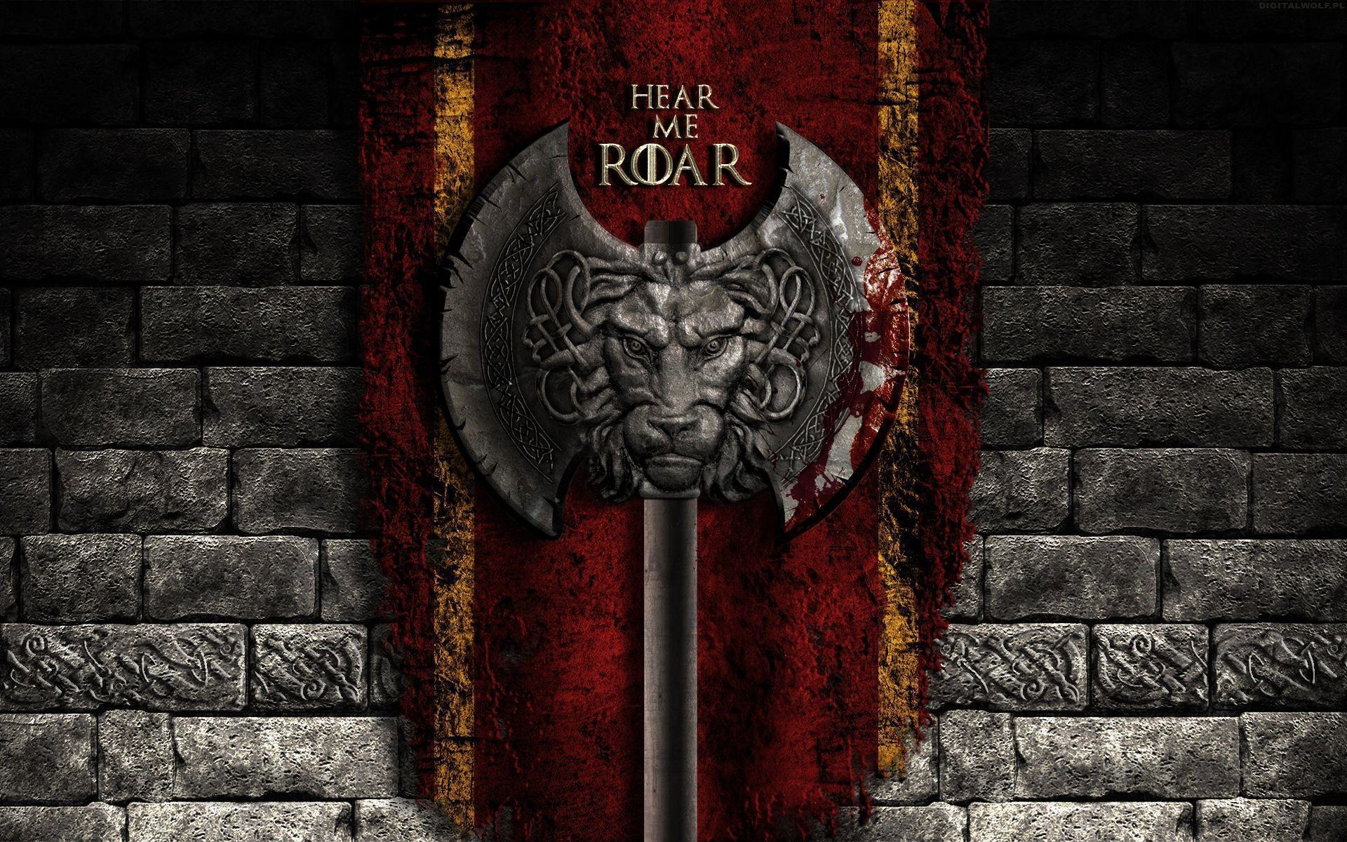Game of thrones lannister wallpaper