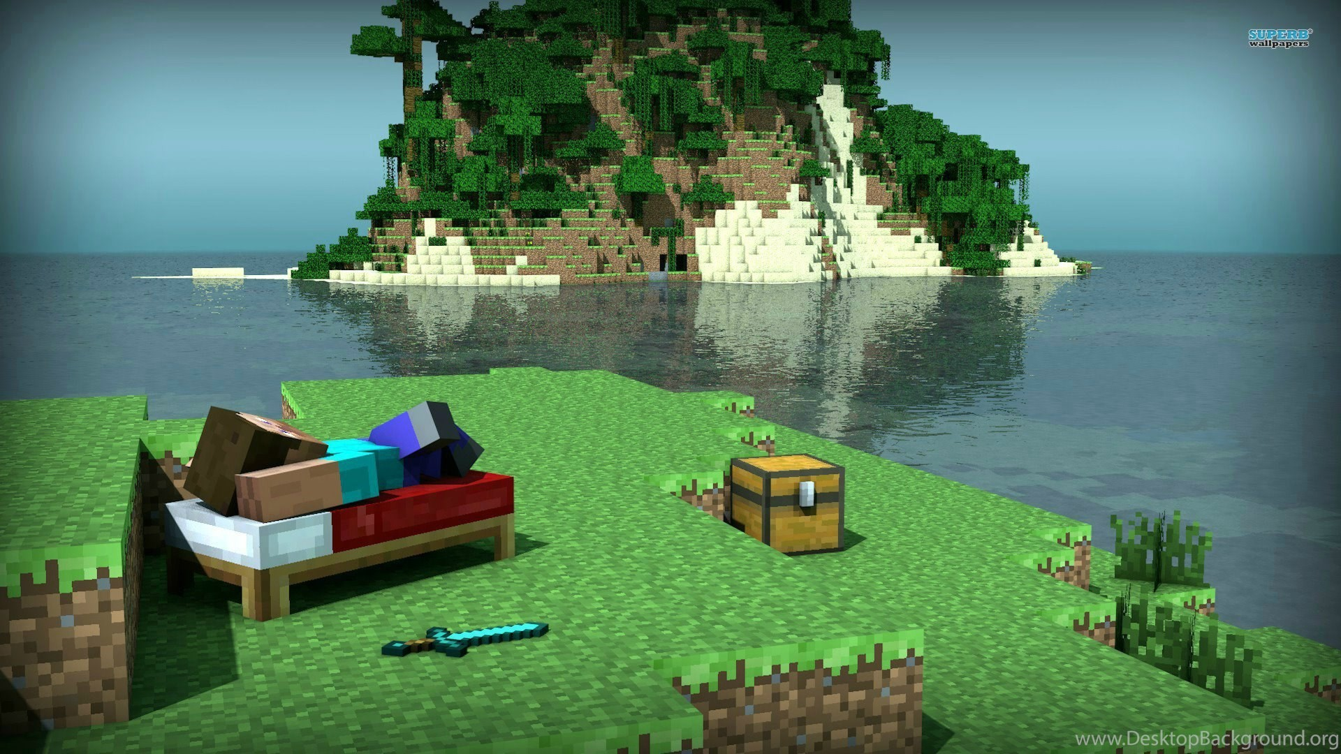 1920x1080 Awesome Minecraft Wallpapers Widescreen
