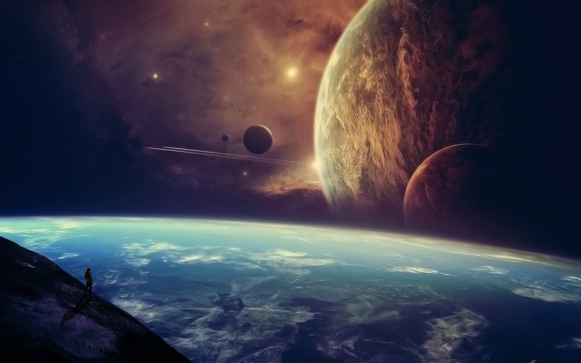 Fantasy Space Wallpapers (71+ images)
