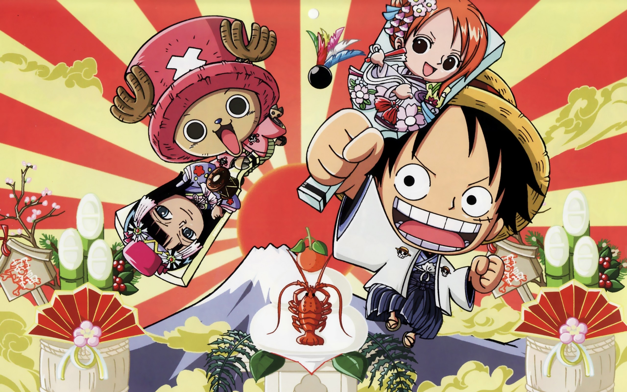 2560x1600 One Piece Chibi wallpaper 241106
