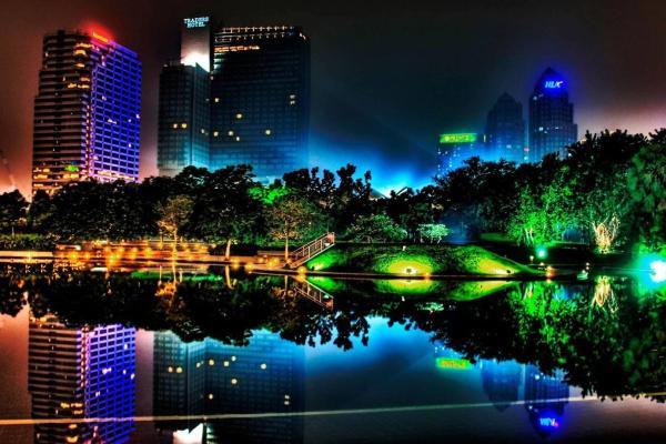 City Night Wallpaper HD 1920x1080 4K