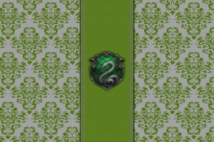 large Slytherin Crest Wallpaper 1920x1080 download free